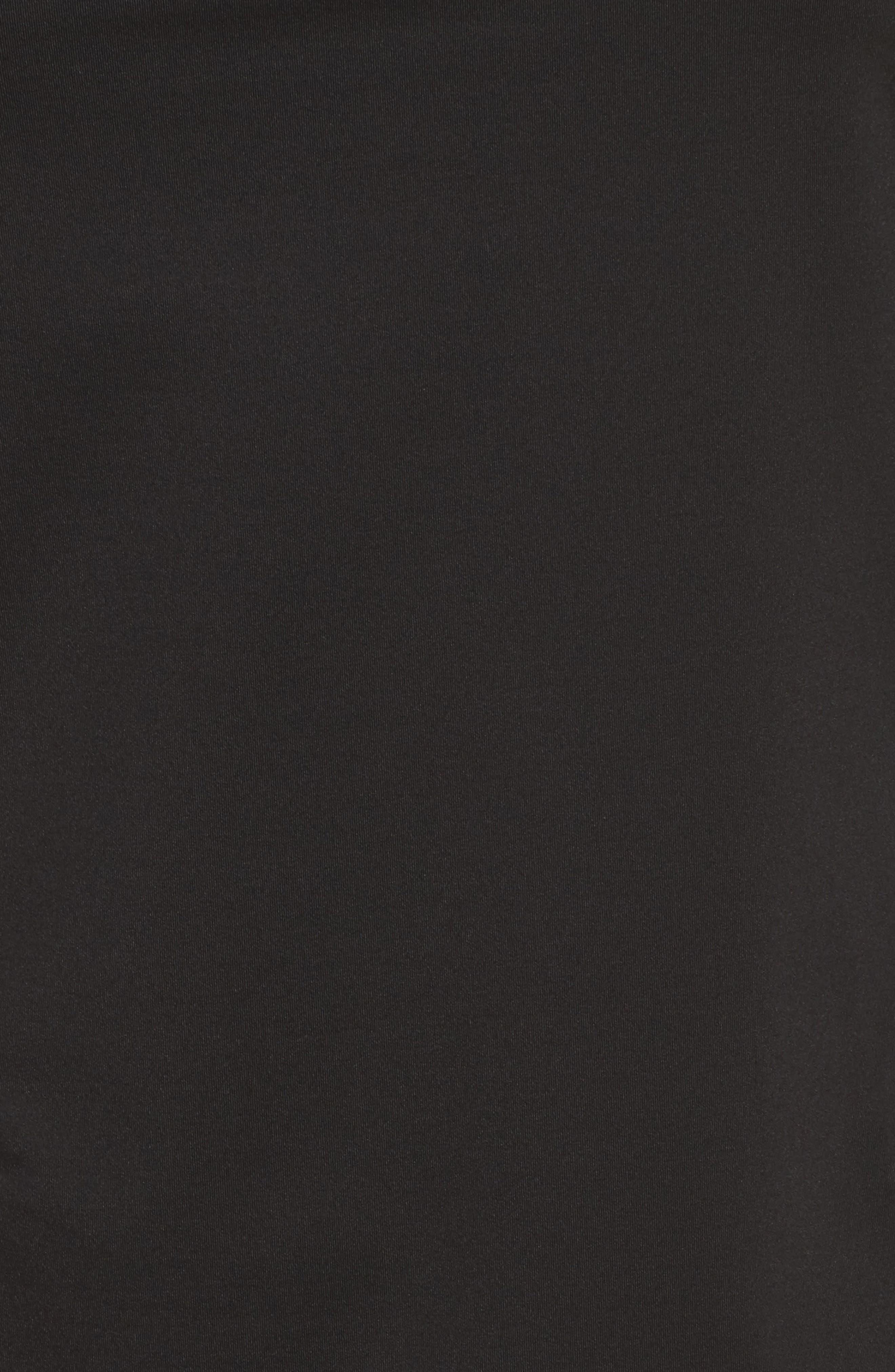 BoomBoom Athletica Mesh Panel Tank,                             Alternate thumbnail 6, color,                             Black/ White