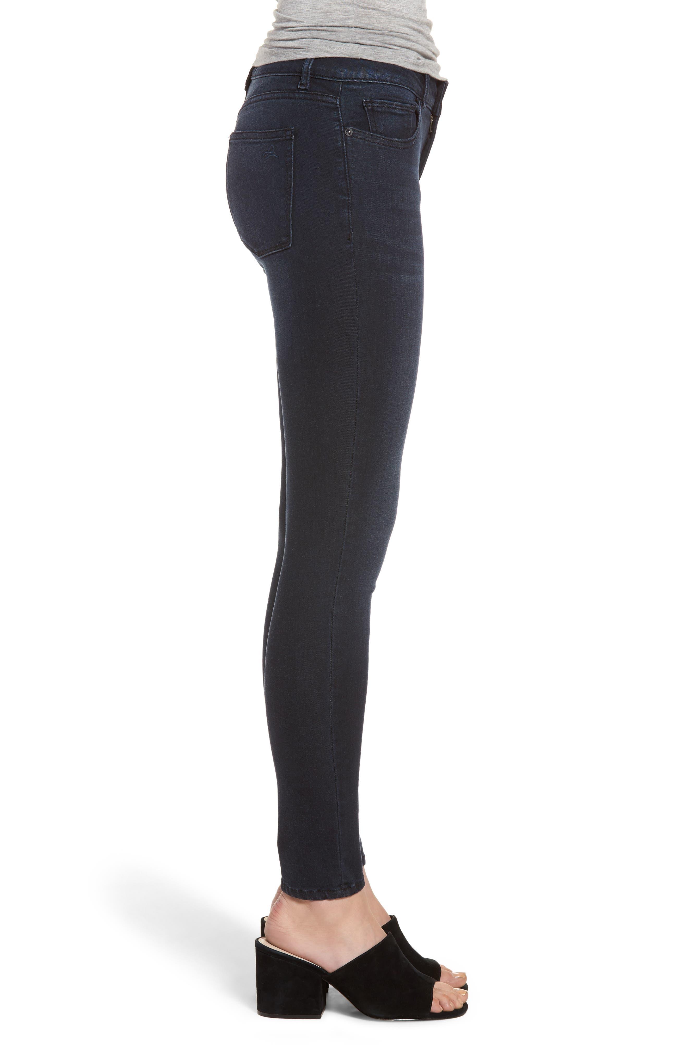 Emma Power Legging Skinny Jeans,                             Alternate thumbnail 3, color,                             Macon