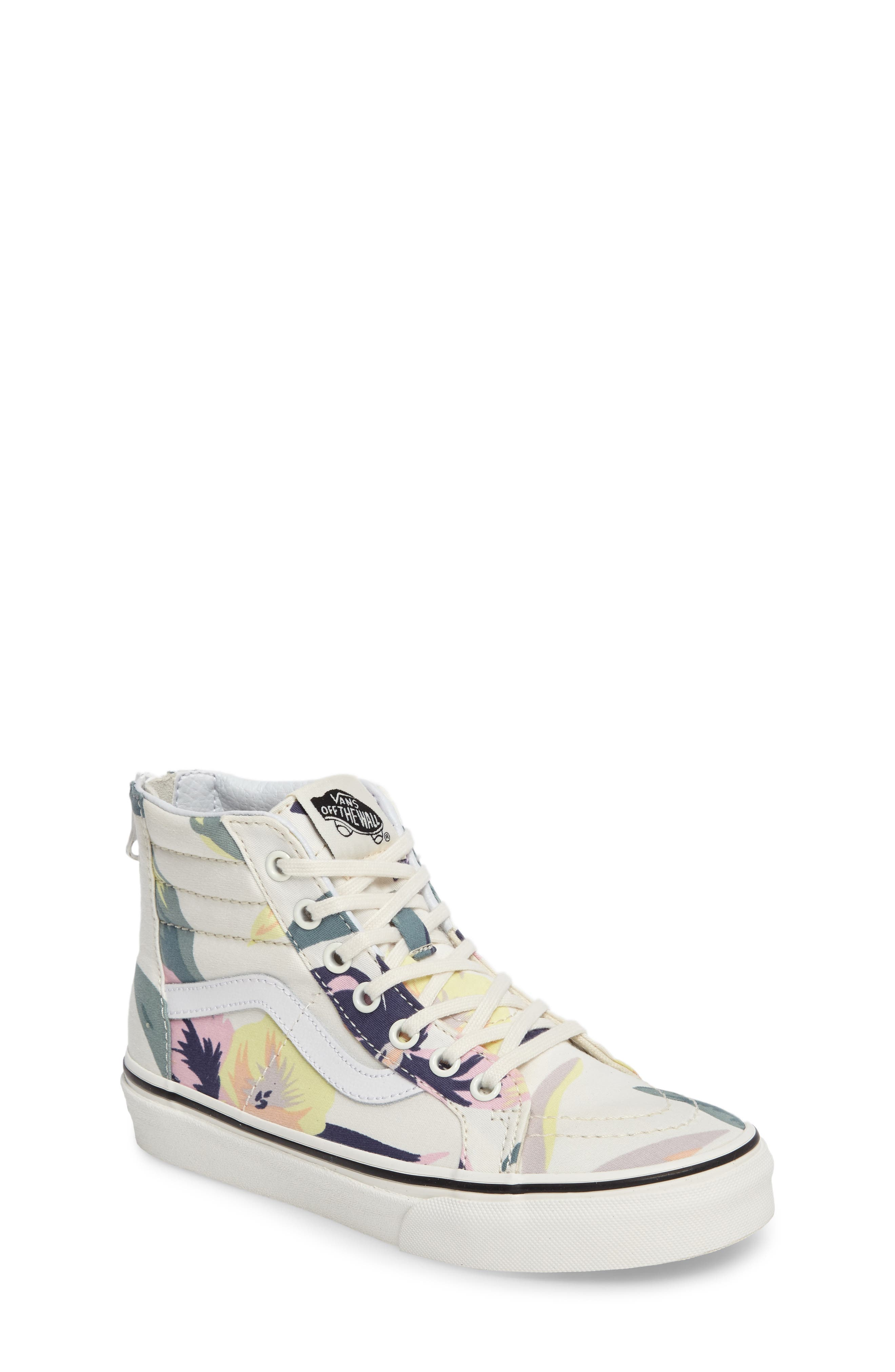 Vans 'Sk8-Hi' Zip Sneaker (Toddler, Little Kid & Big Kid)