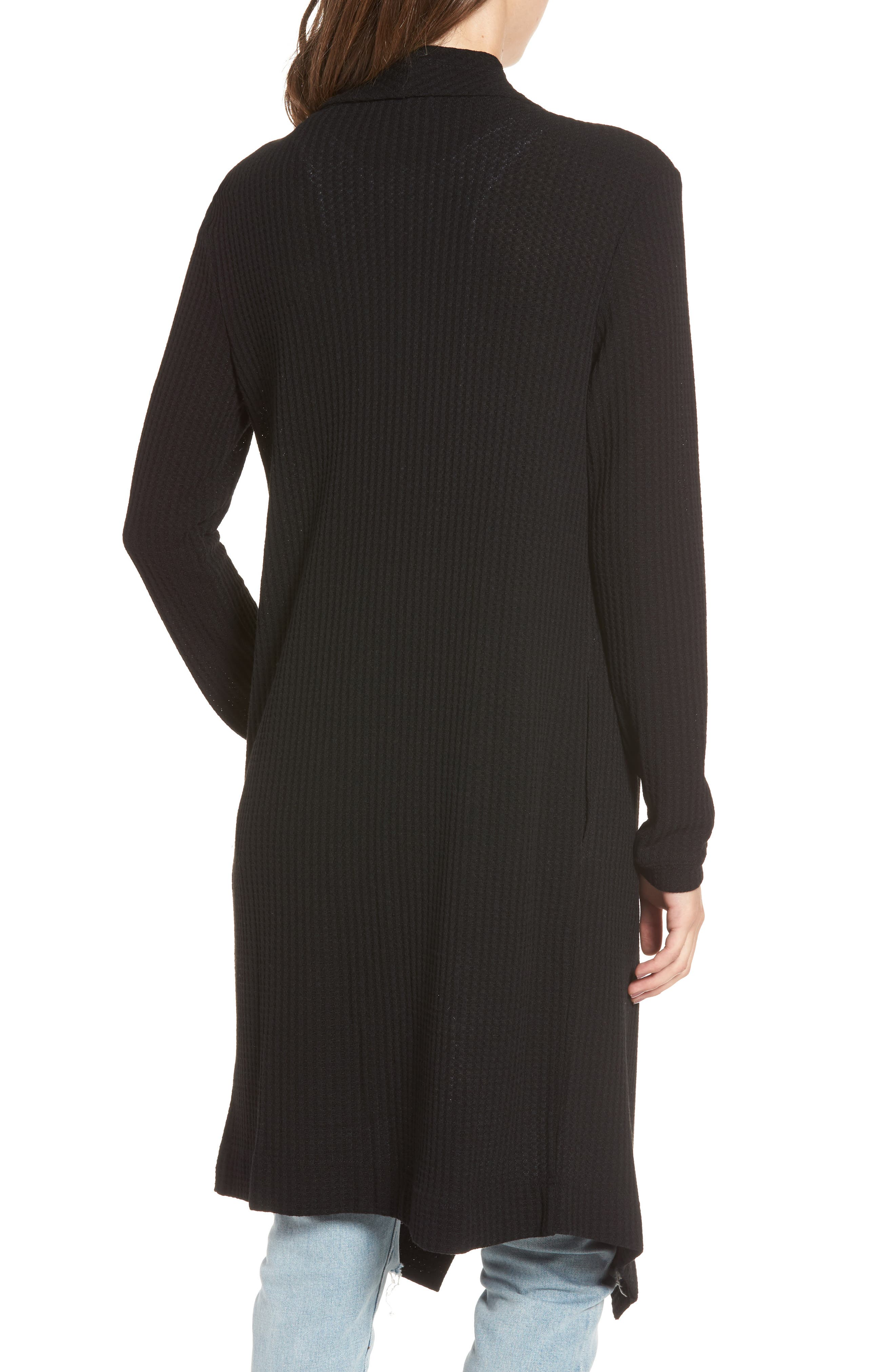 Alternate Image 2  - 4SI3NNA Open Front Cardigan