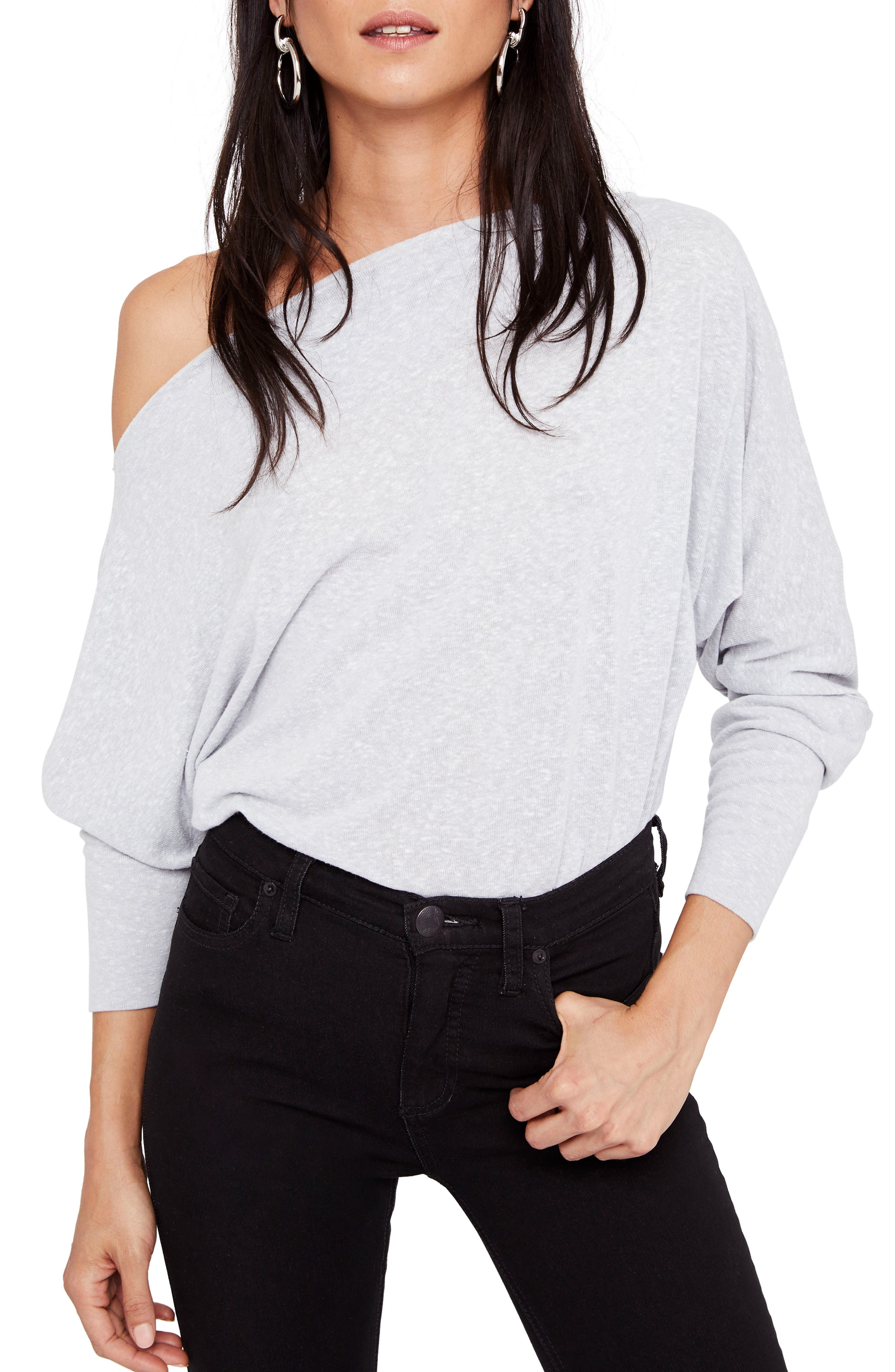 Main Image - Free People Valencia Off the Shoulder Pullover