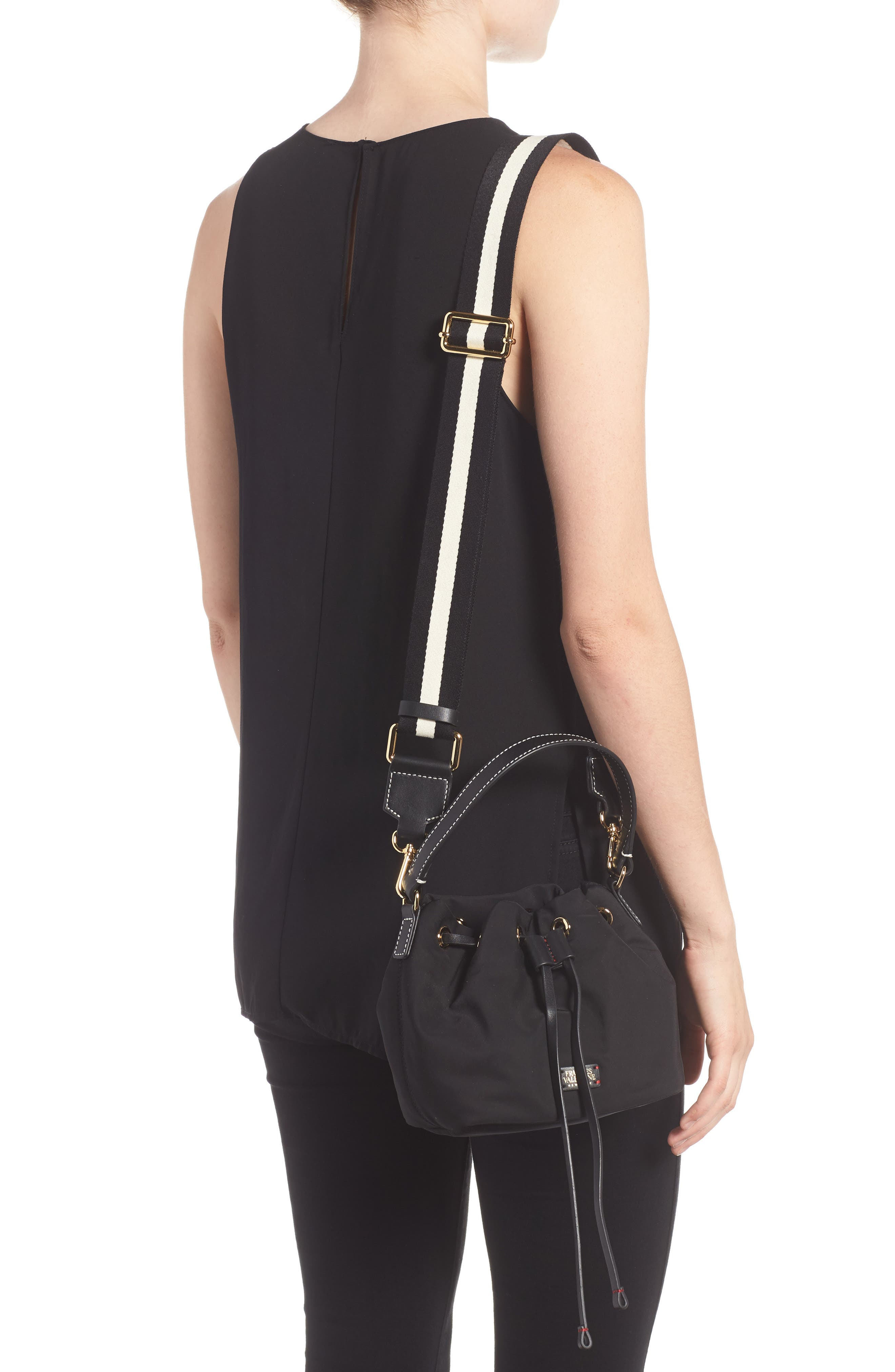 Alternate Image 2  - Frances Valentine Small Ann Nylon Bucket Bag