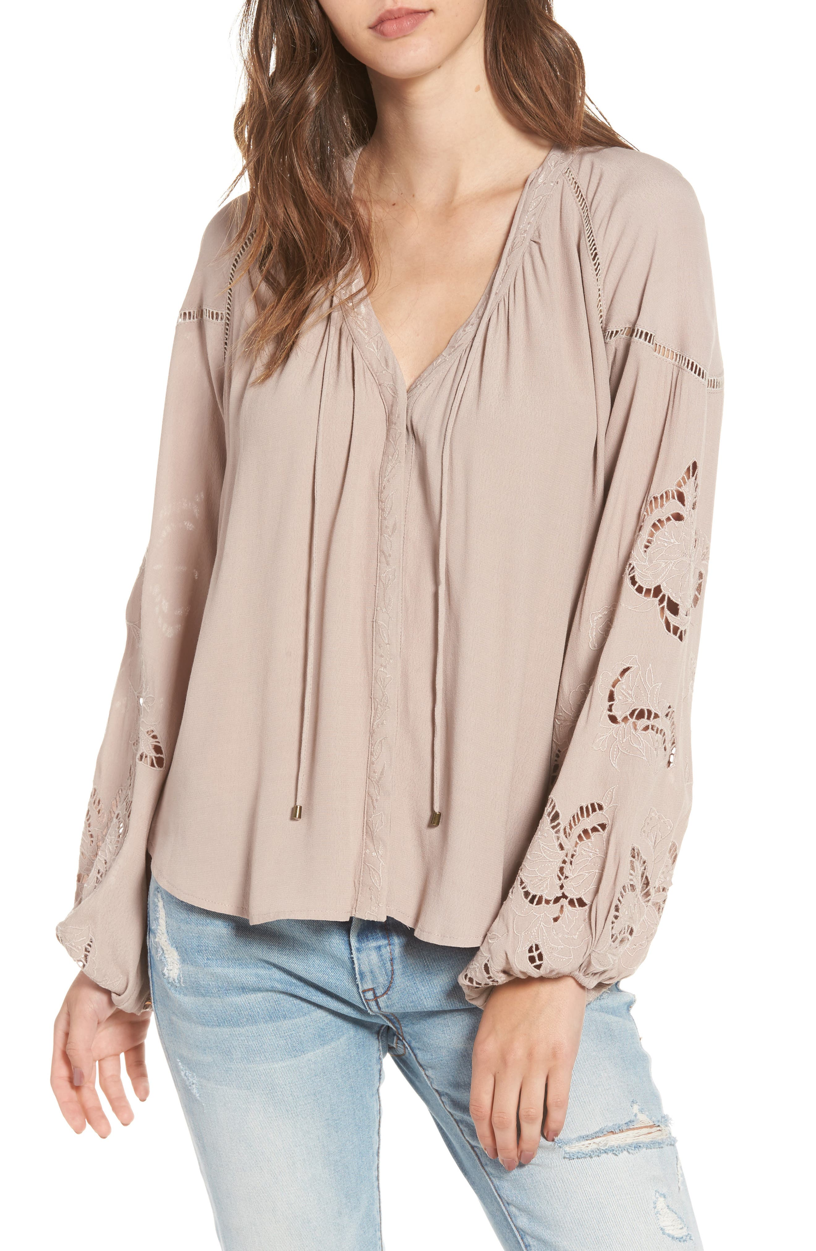Alternate Image 1 Selected - ASTR the Label Jennie Blouse
