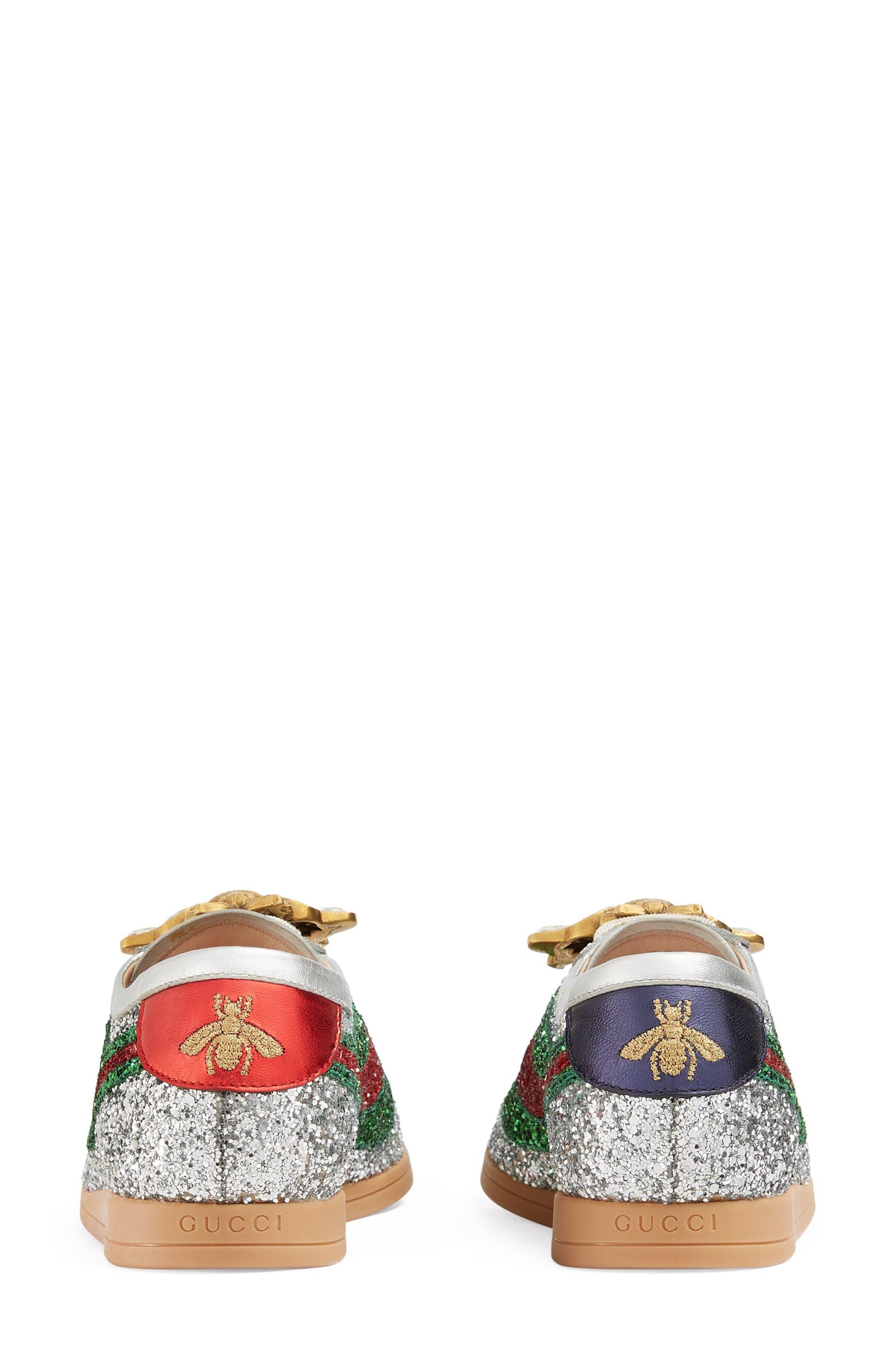 Alternate Image 3  - Gucci Falacer Glitter Sneaker (Women)