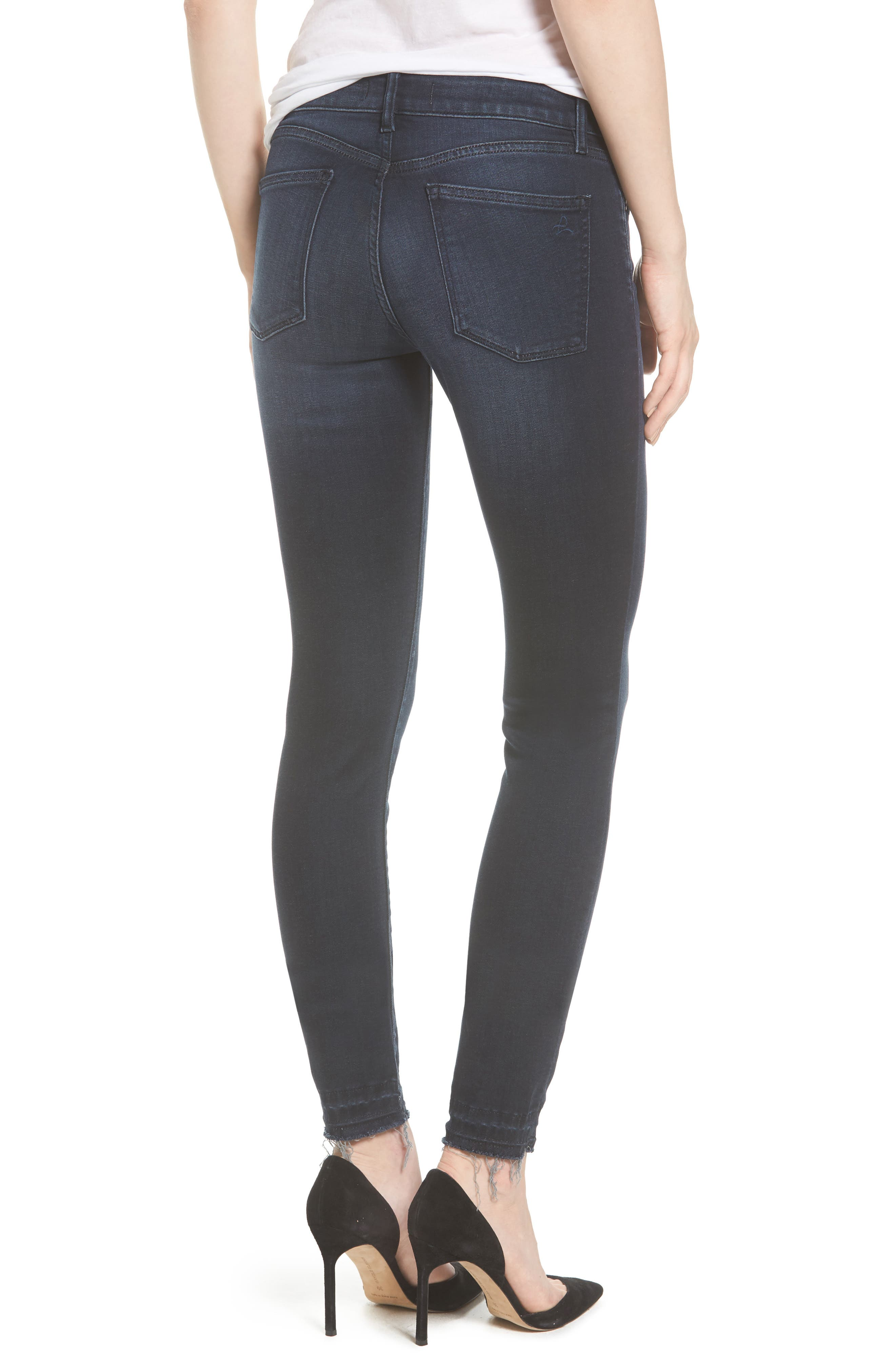 Florence Instasculpt Skinny Jeans,                             Alternate thumbnail 2, color,                             Sloan