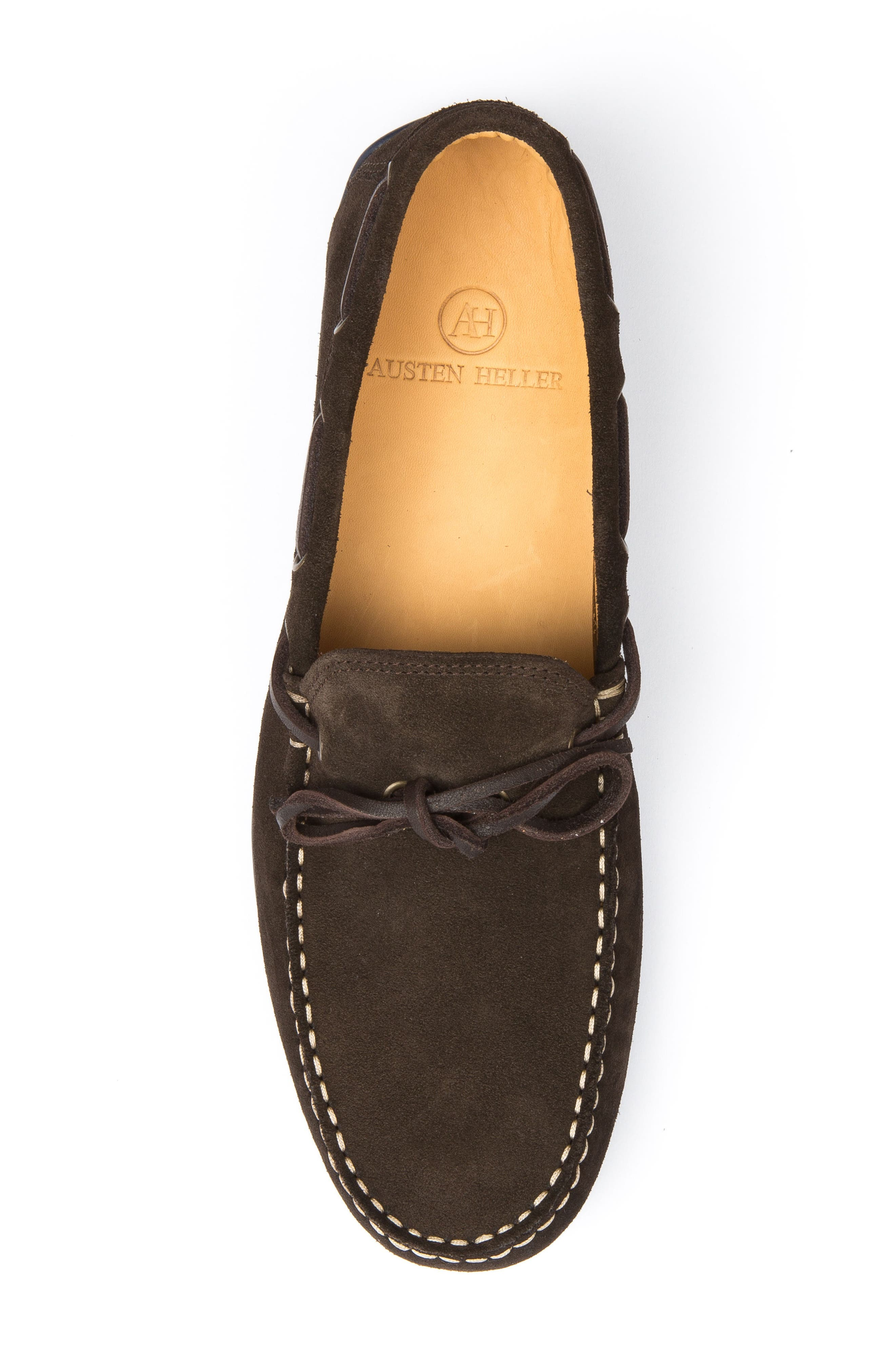Kingstons Driving Shoe,                             Alternate thumbnail 5, color,                             Brown Suede