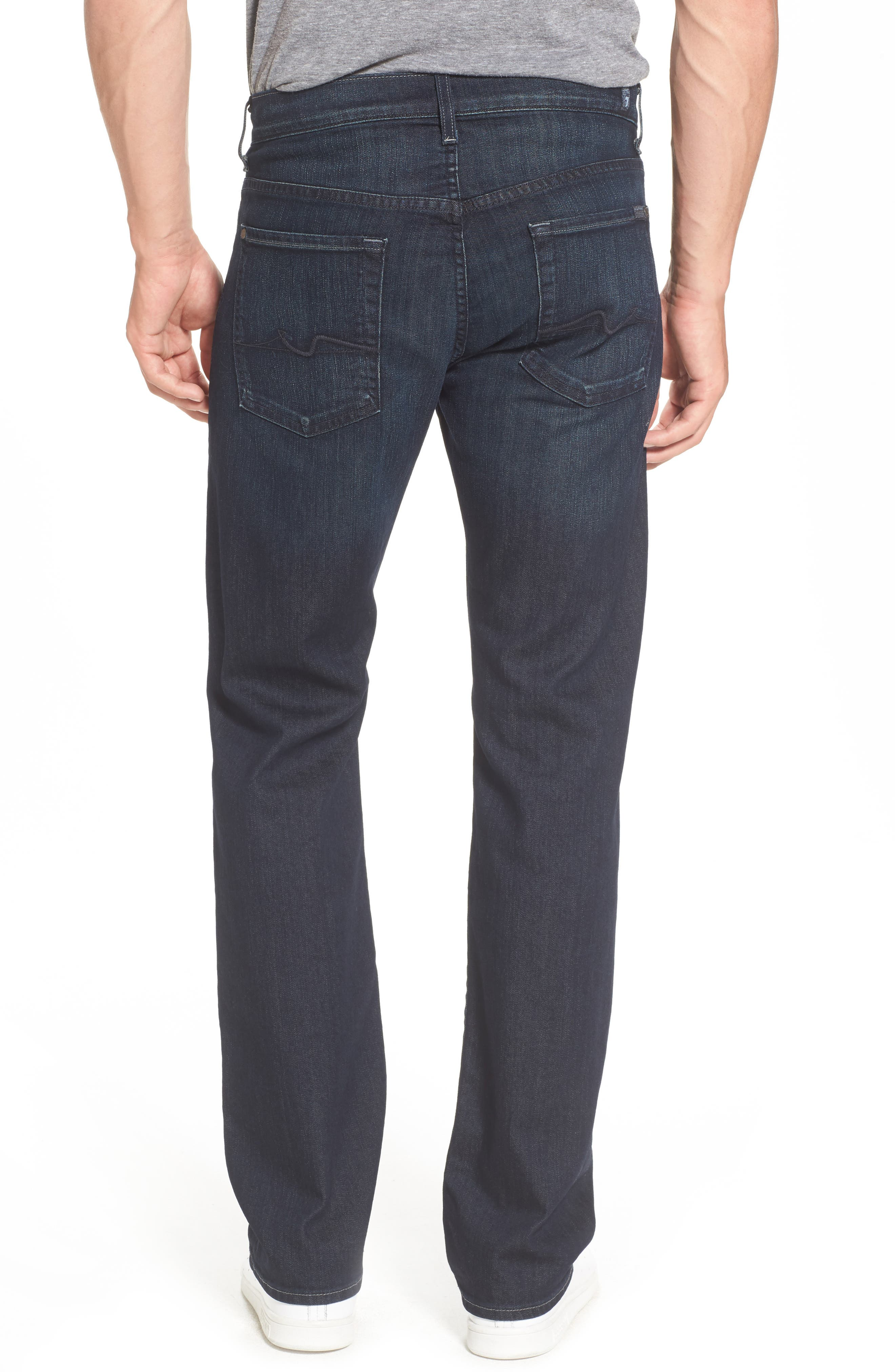 Alternate Image 2  - 7 For All Mankind® Airweft - Austyn Relaxed Straight Leg Jeans (Perennial)