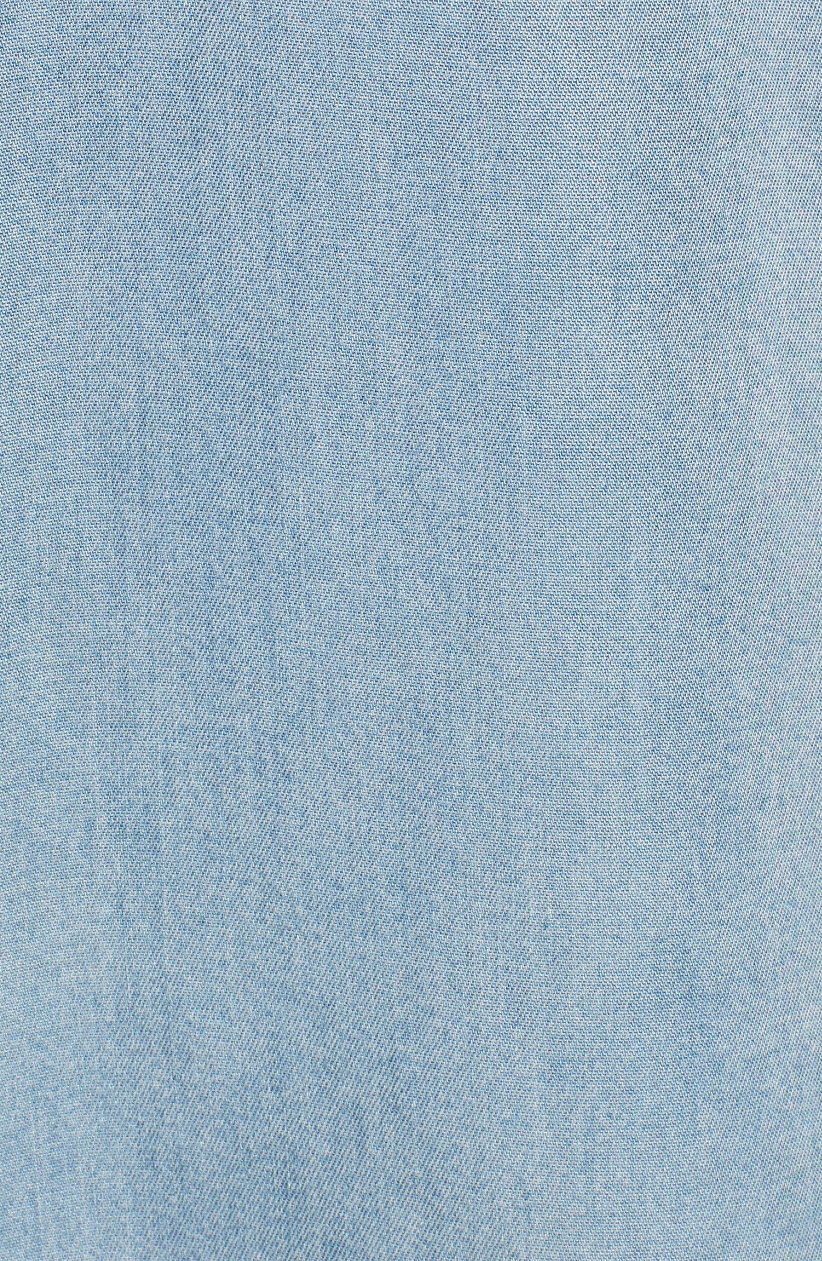 Alternate Image 5  - DL1961 x The Blue Shirt Shop Nassau & Manhattan Boyfriend Shirt