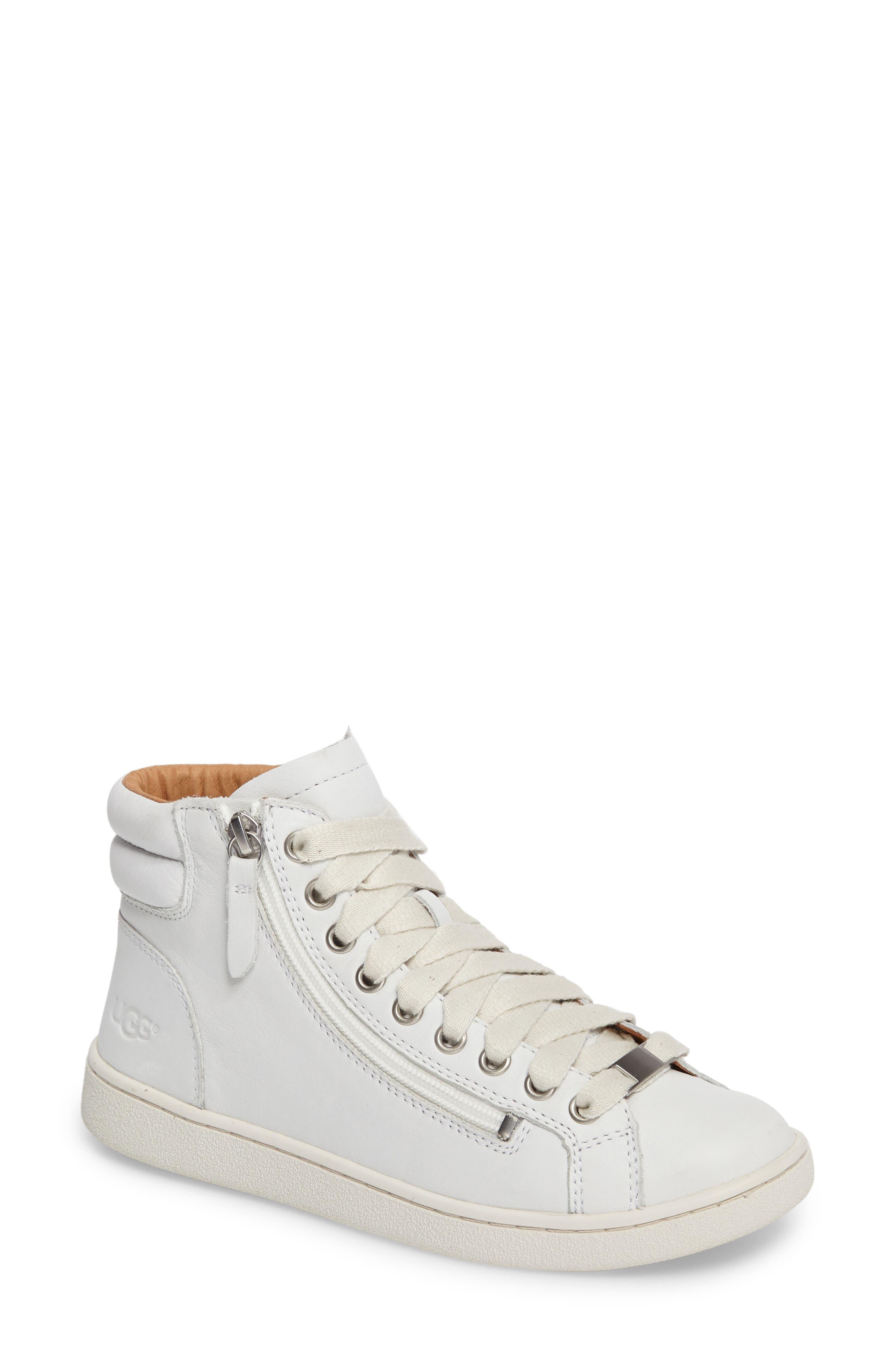 Alternate Image 1 Selected - UGG Olive High Top Sneaker (Women)