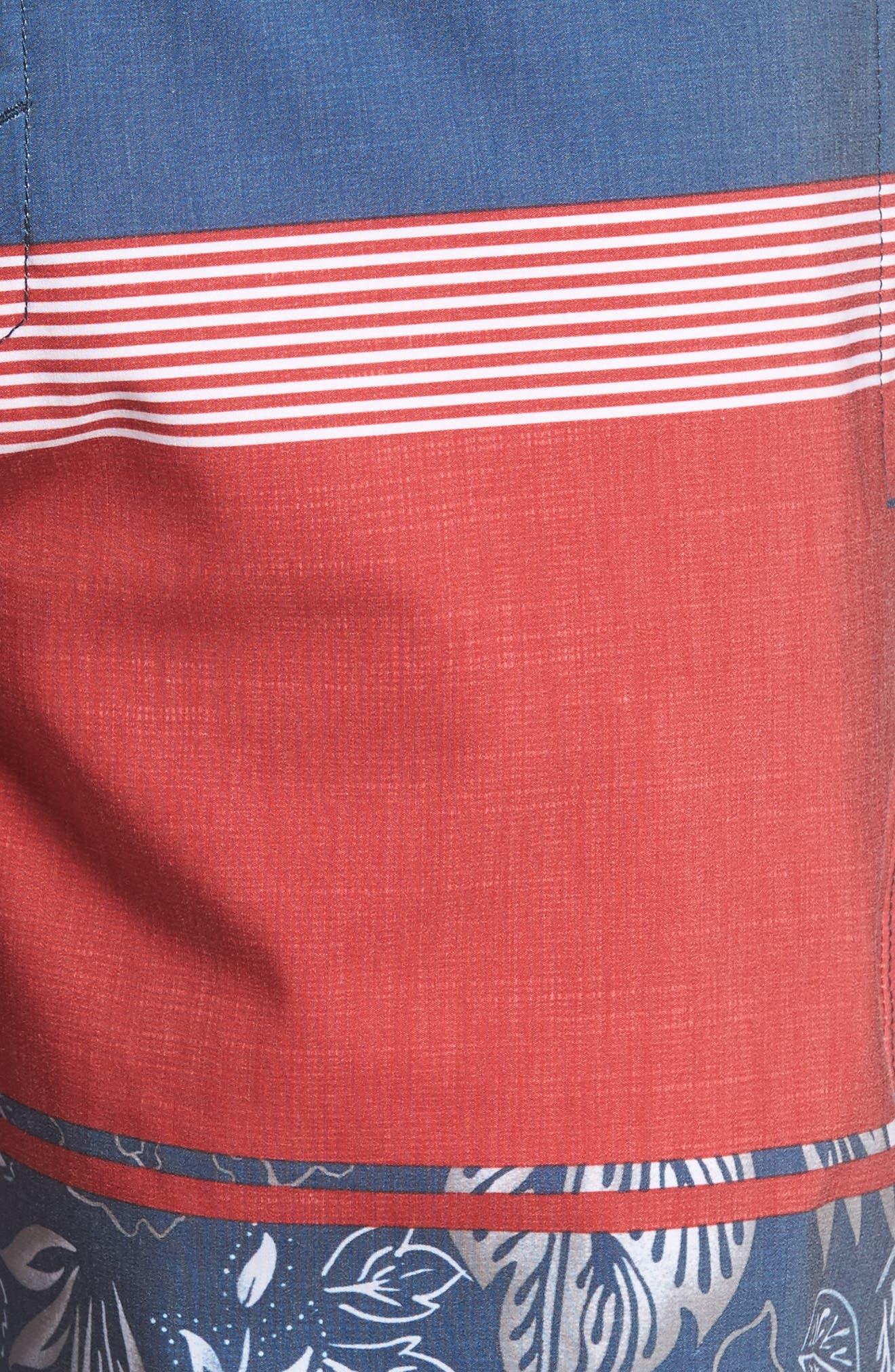 Surfside Board Shorts,                             Alternate thumbnail 5, color,                             Red