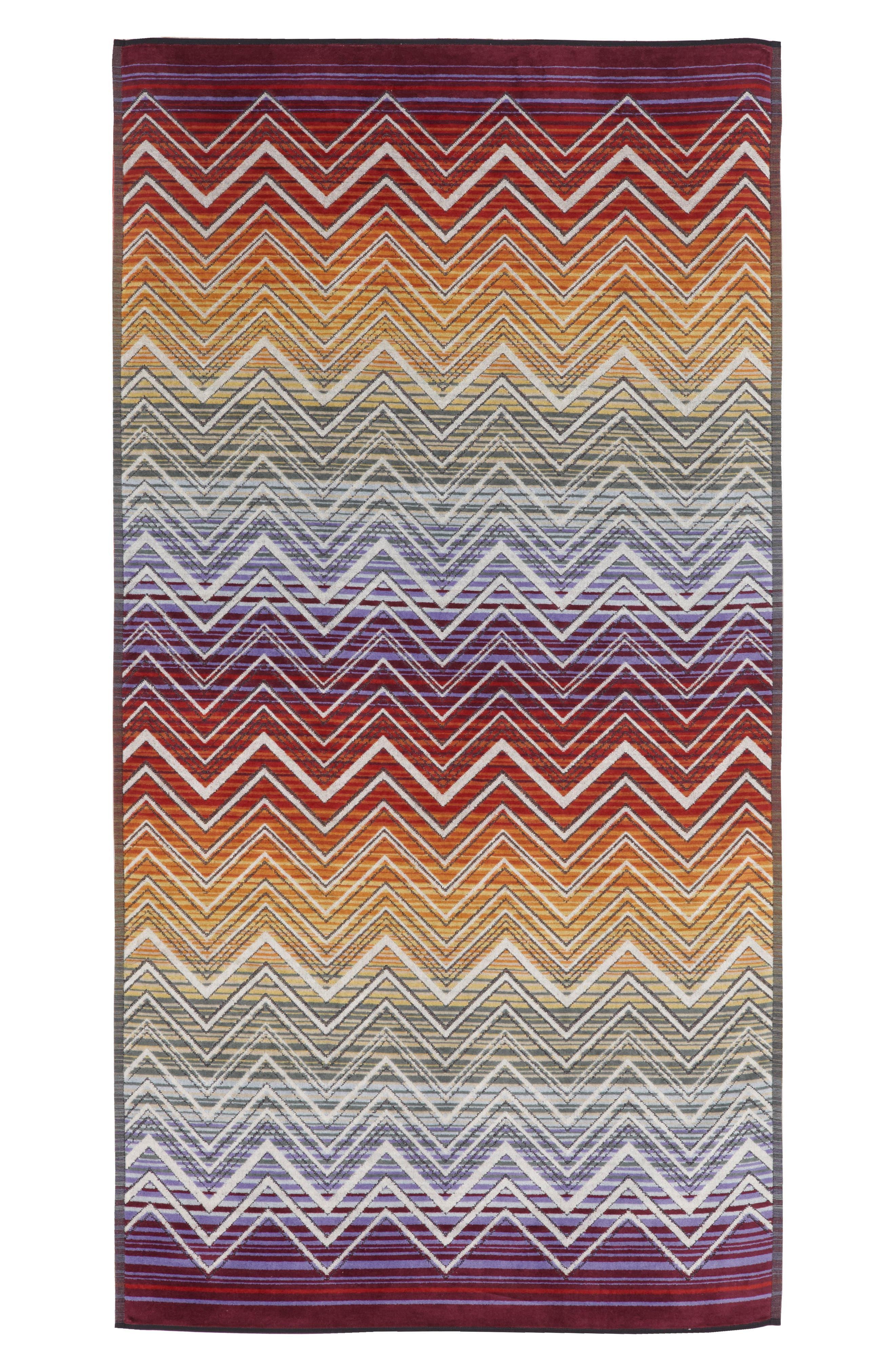 Tolomeo Hand Towel,                             Main thumbnail 1, color,                             Multi Red