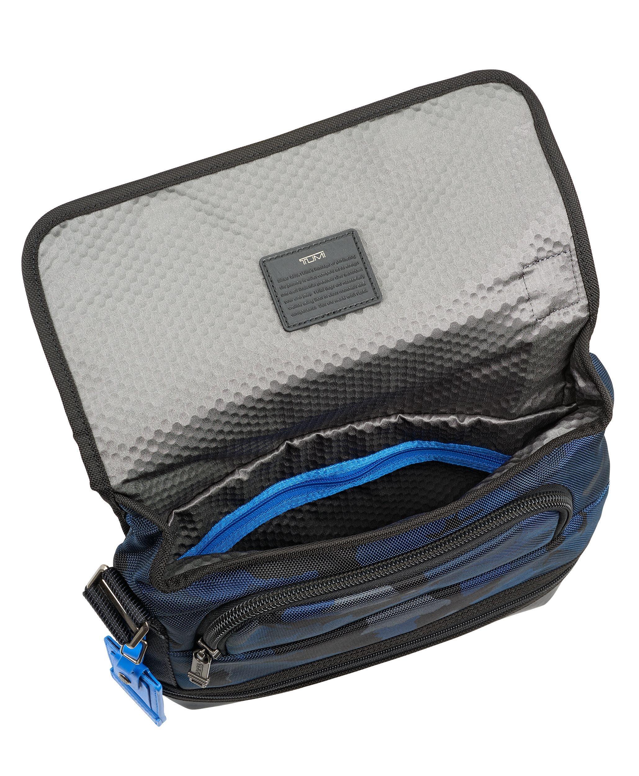 Alpha Bravo Beale Messenger Bag,                             Alternate thumbnail 2, color,                             Blue Camo