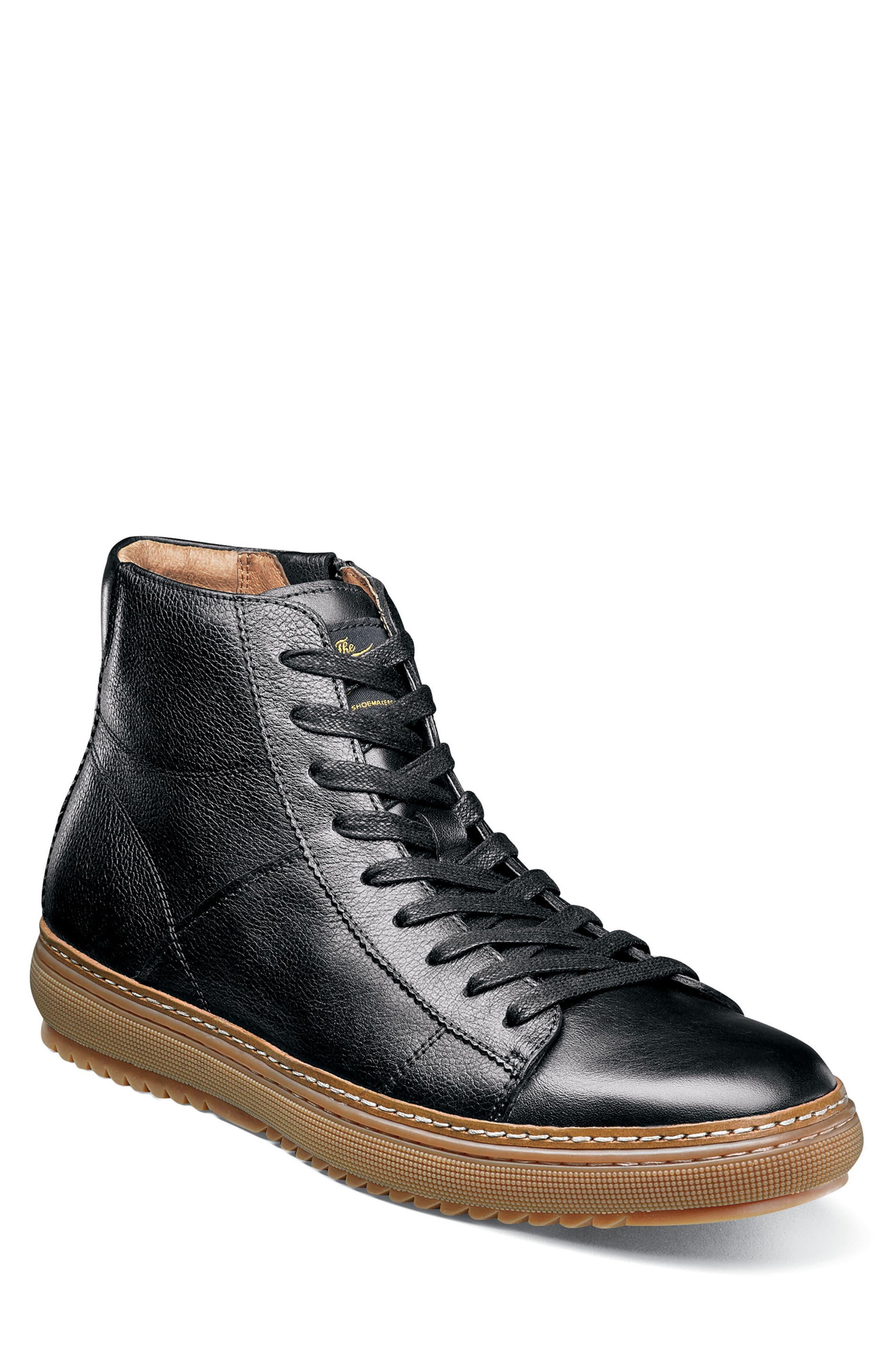 Crew Sneaker,                             Main thumbnail 1, color,                             Black
