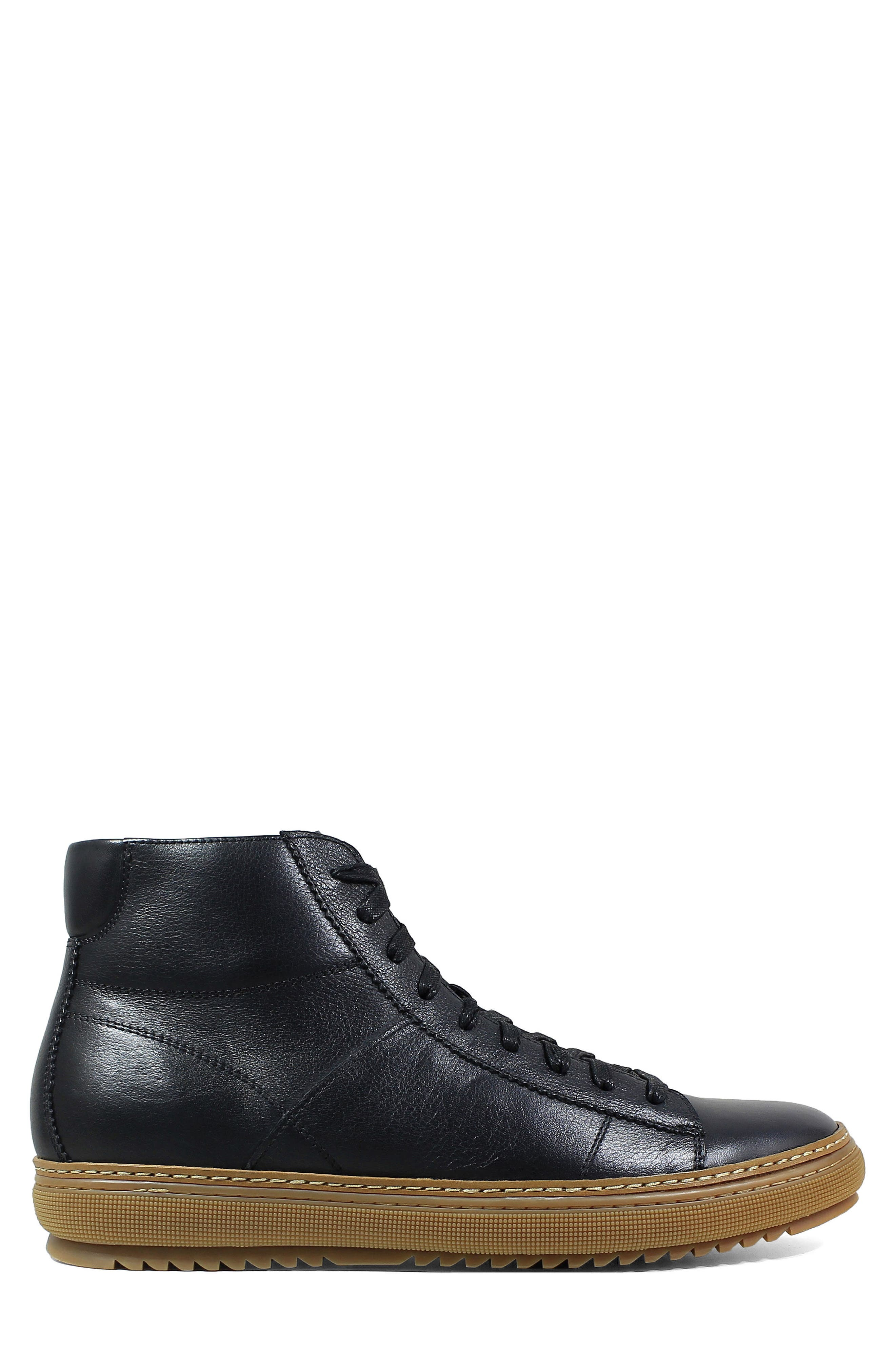 Crew Sneaker,                             Alternate thumbnail 3, color,                             Black