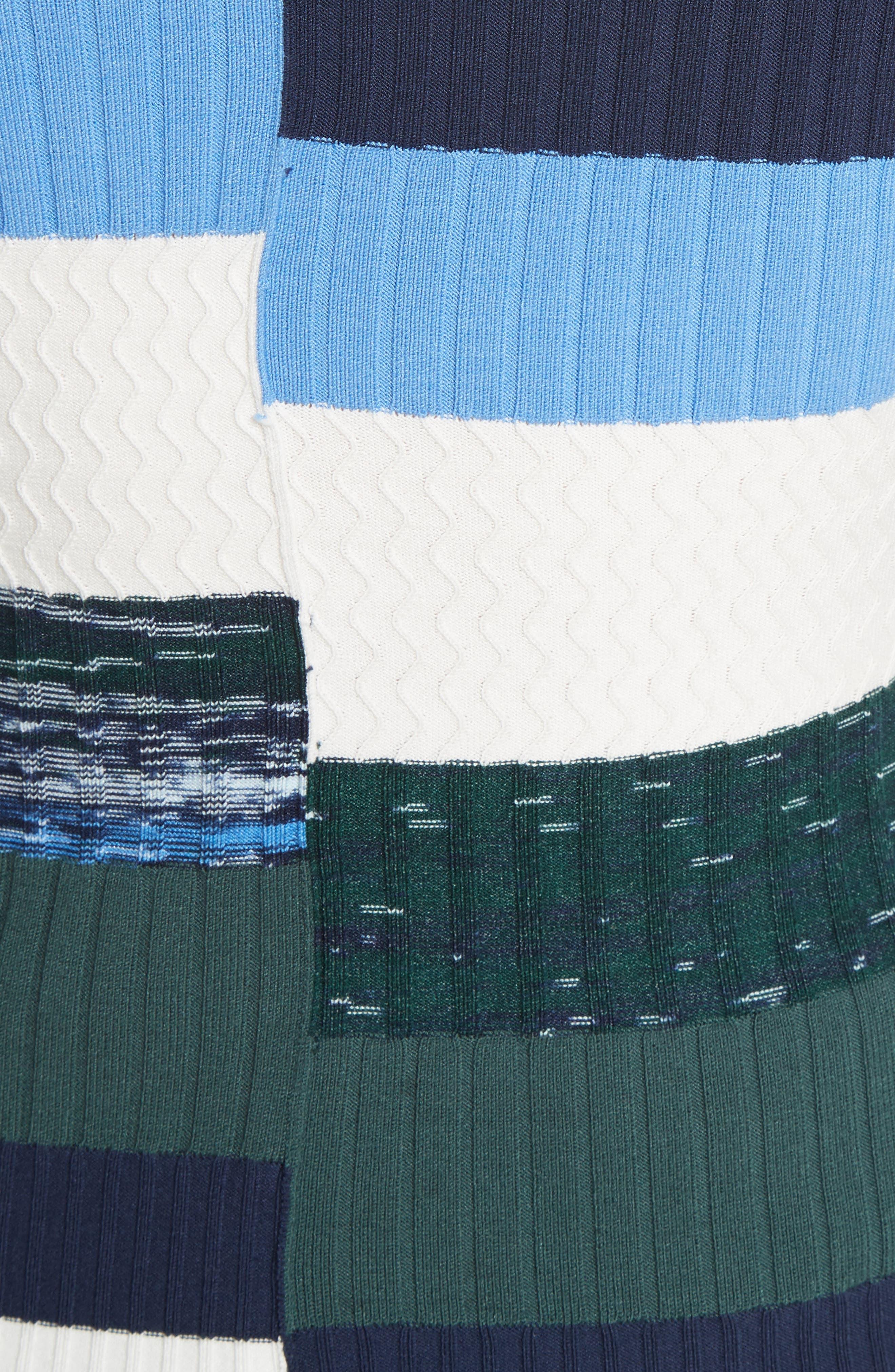Space Dye Stripe Top,                             Alternate thumbnail 5, color,                             Eclipse Multi