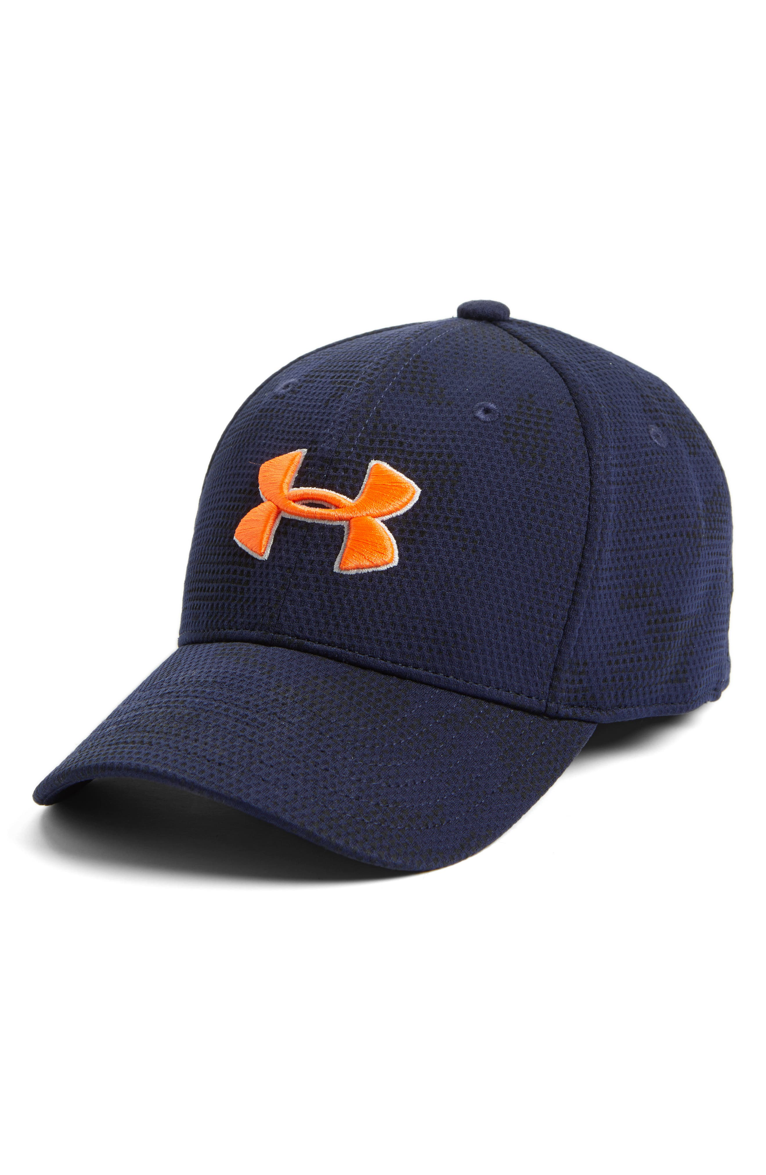 Under Armour 'Blitzing' Stretch Fit Baseball Cap (Boys)