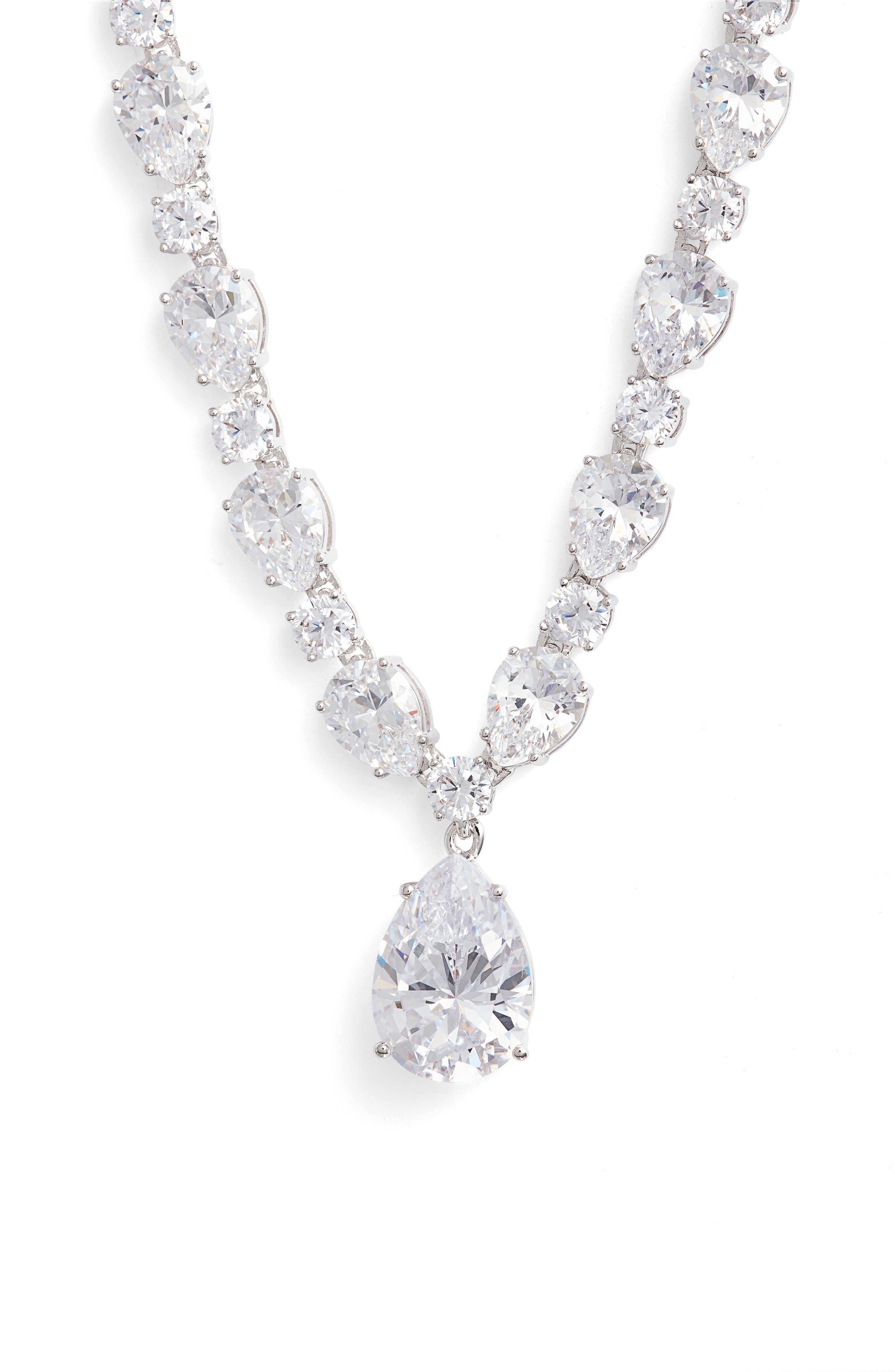 Main Image - Nadri Cubic Zirconia Collar Necklace