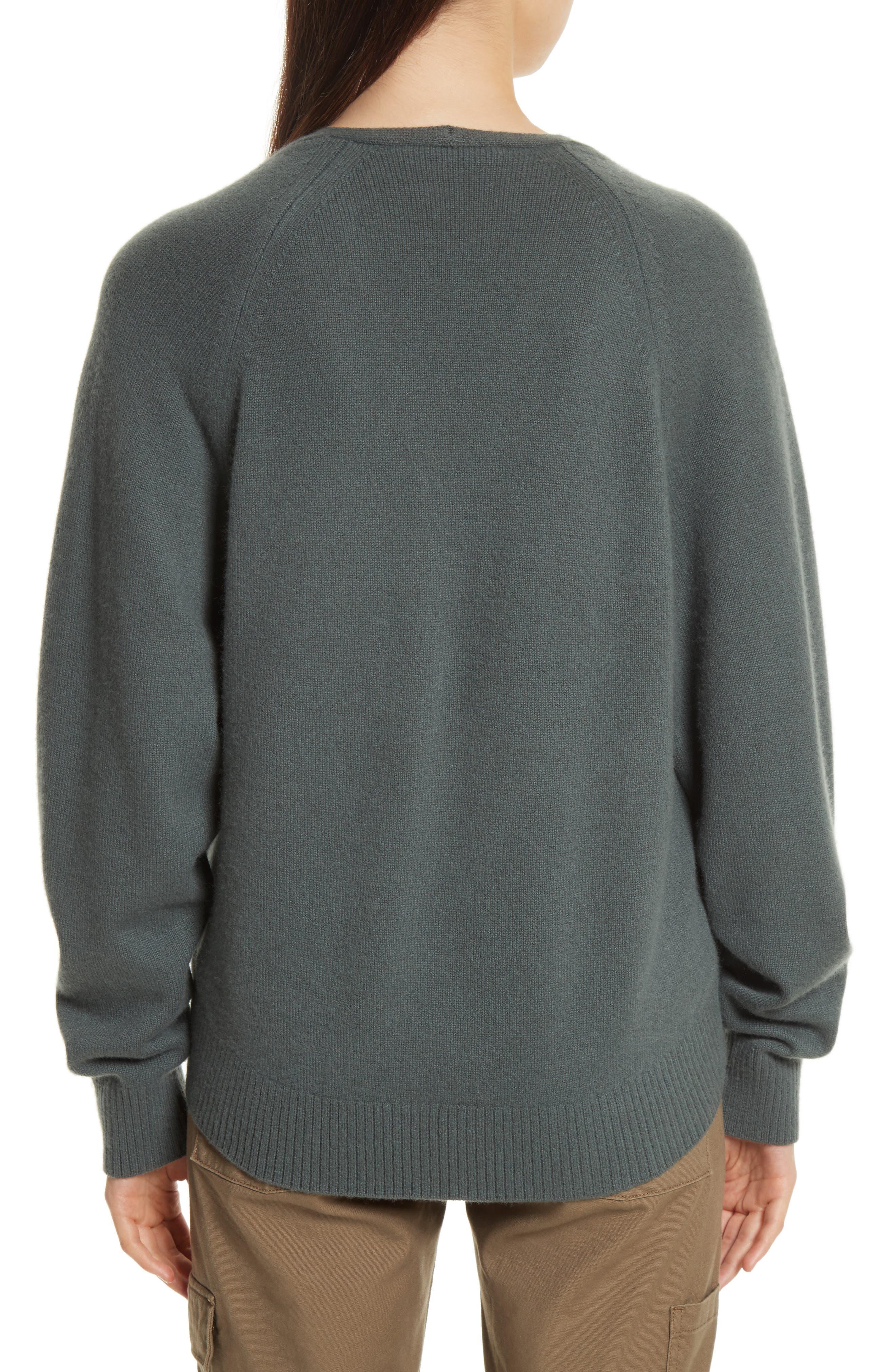 Alternate Image 2  - Vince Deep V-Neck Cashmere Sweater