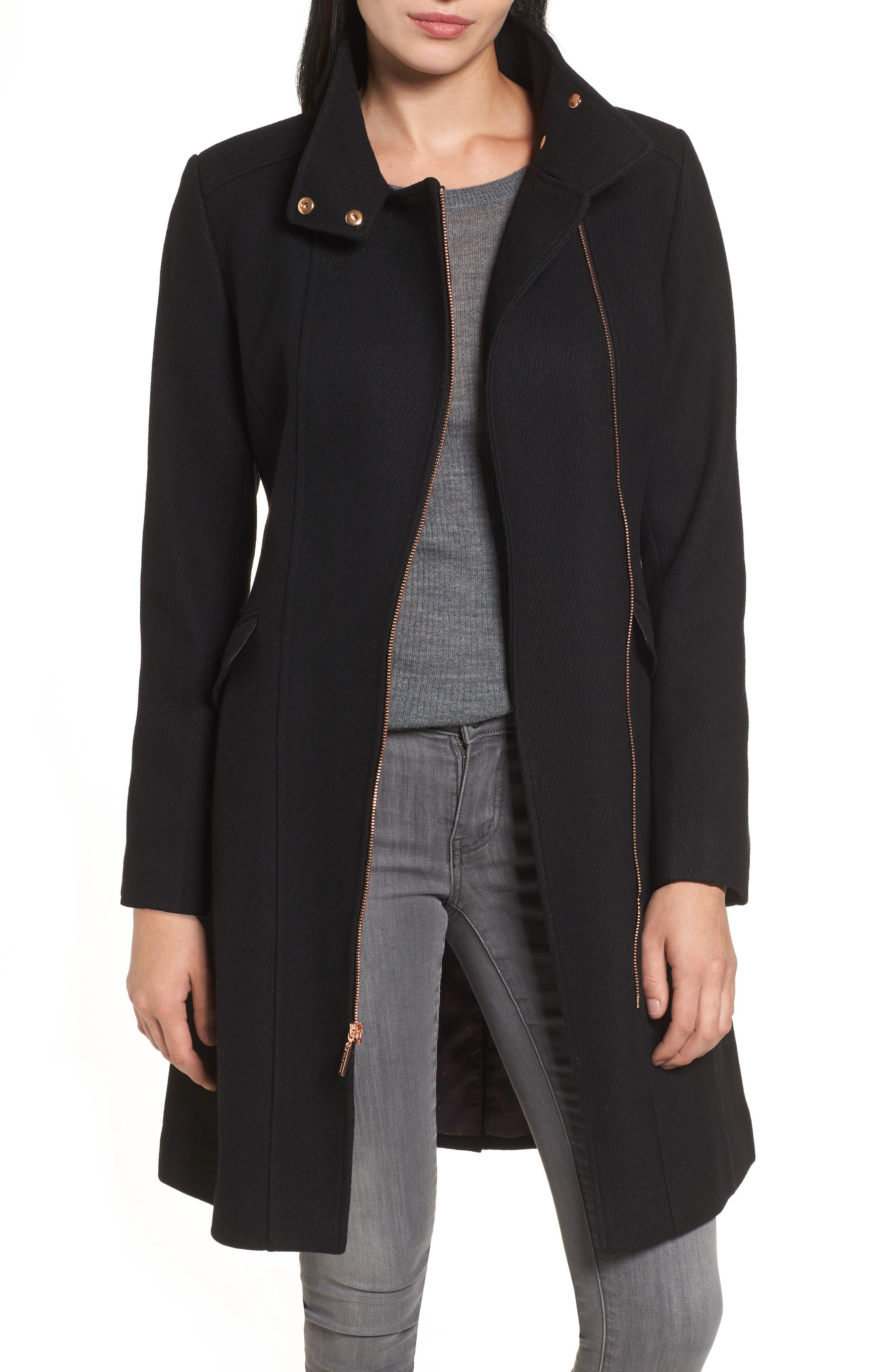 Coat,                         Main,                         color, Black