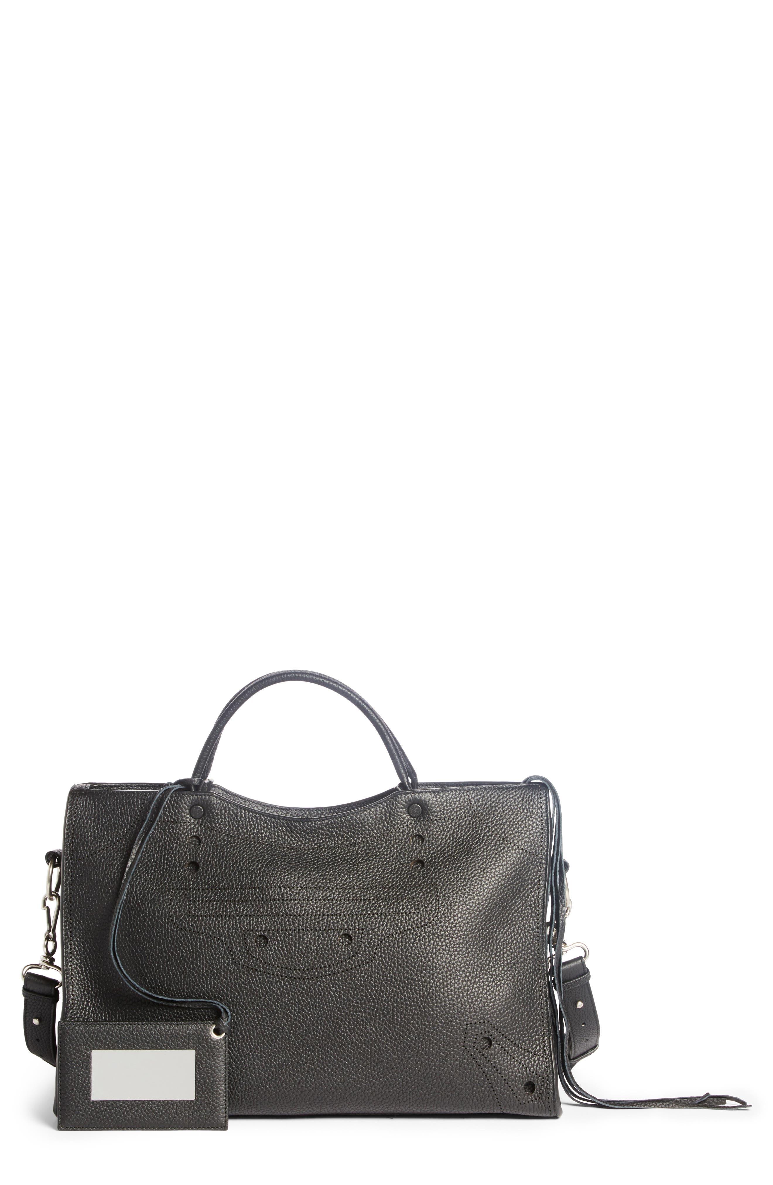 Main Image - Balenciaga Blackout City Leather Tote