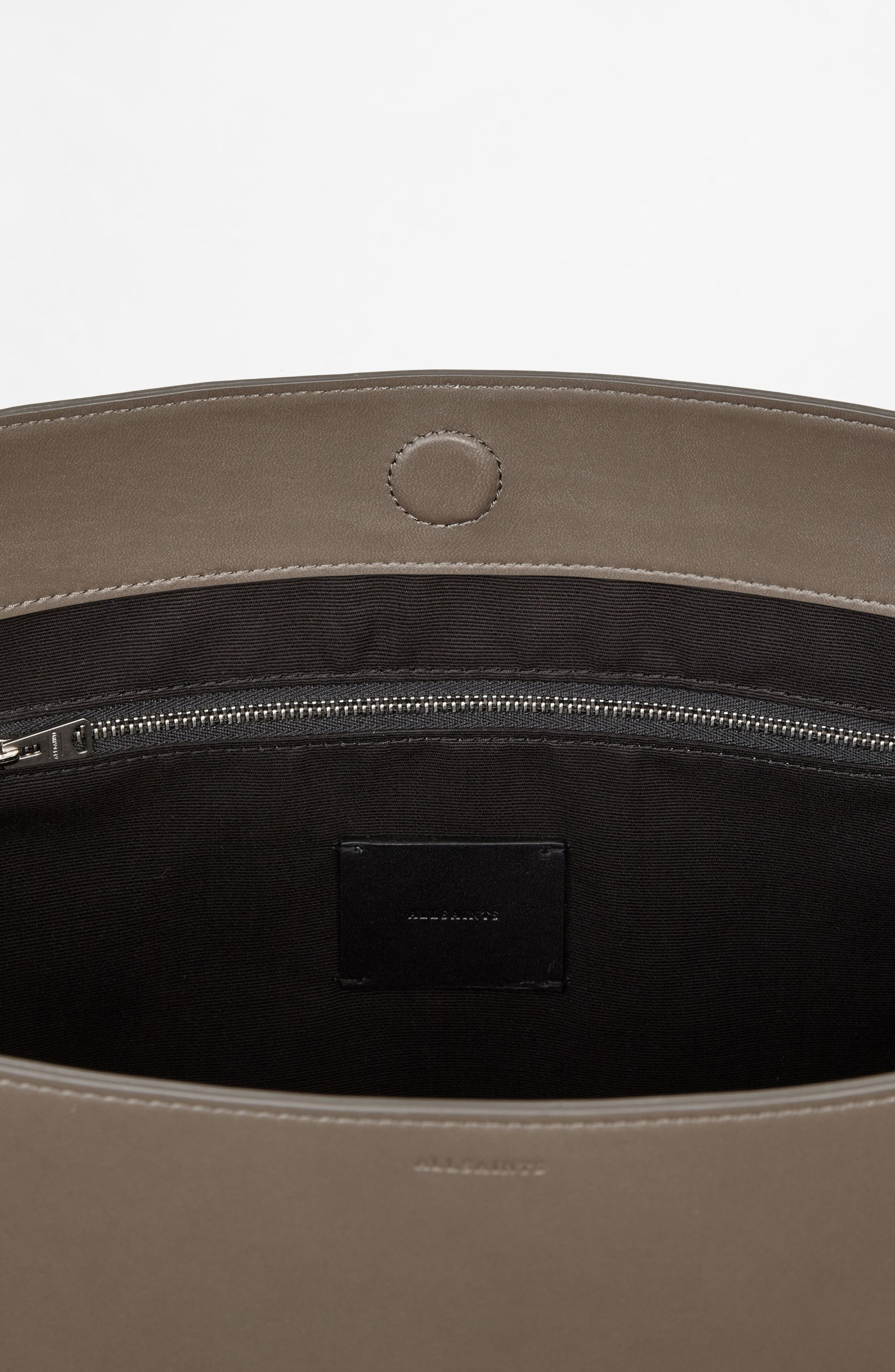 Alternate Image 7  - ALLSAINTS Cooper East/West Calfskin Leather Tote