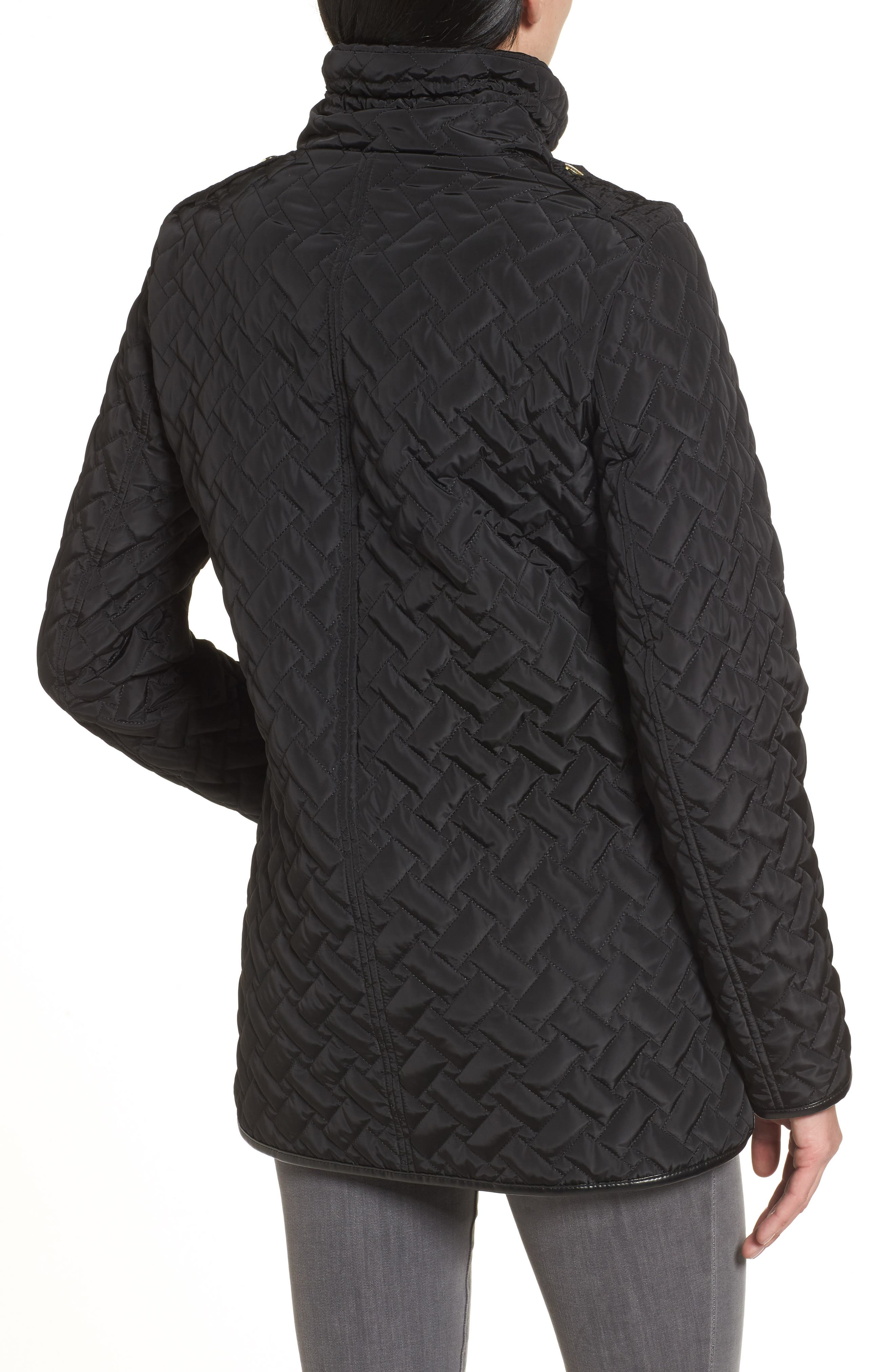 Alternate Image 2  - Cole Haan Quilted Jacket