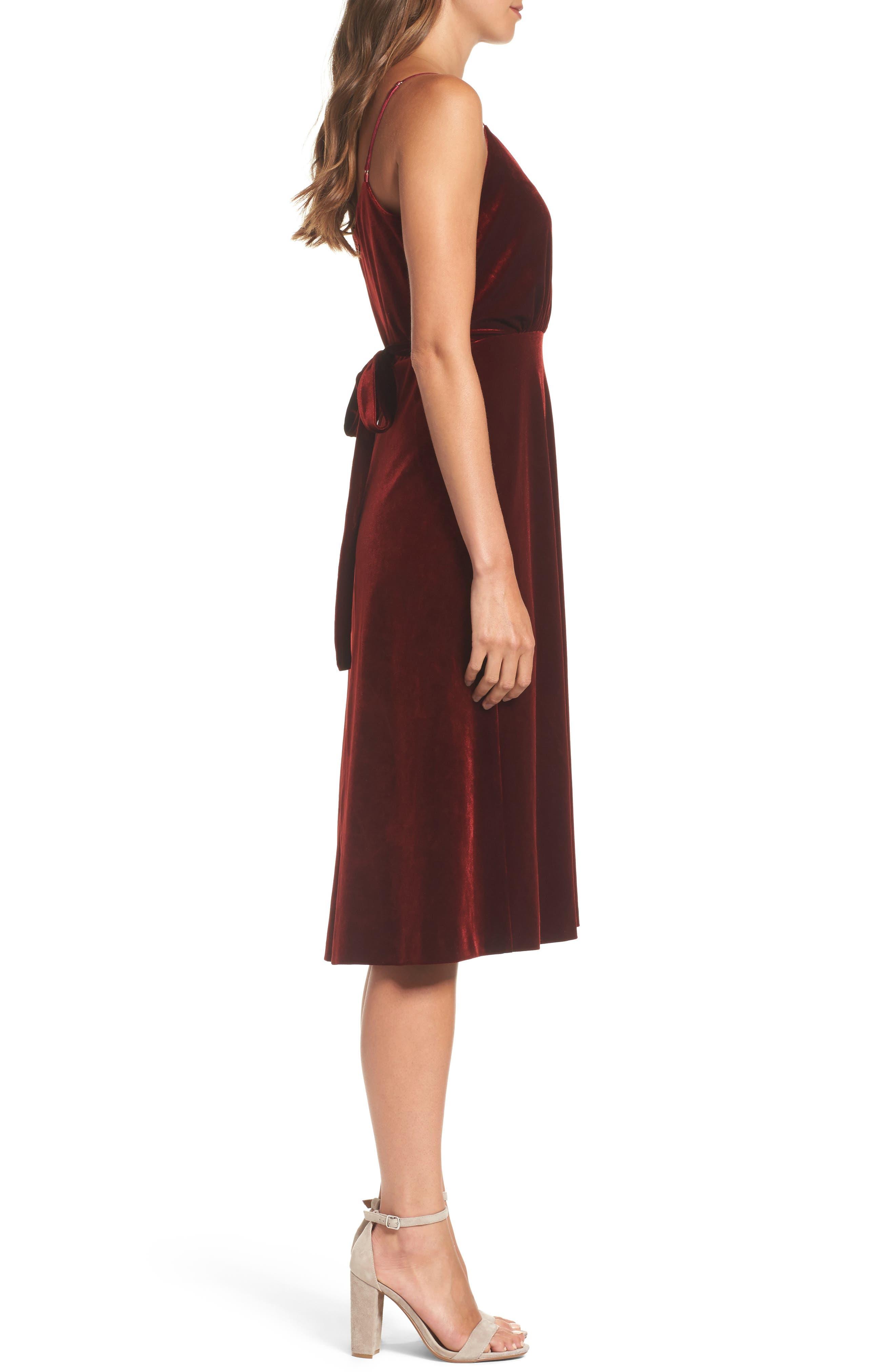 Alternate Image 4  - Ali & Jay Velvet Midi Dress