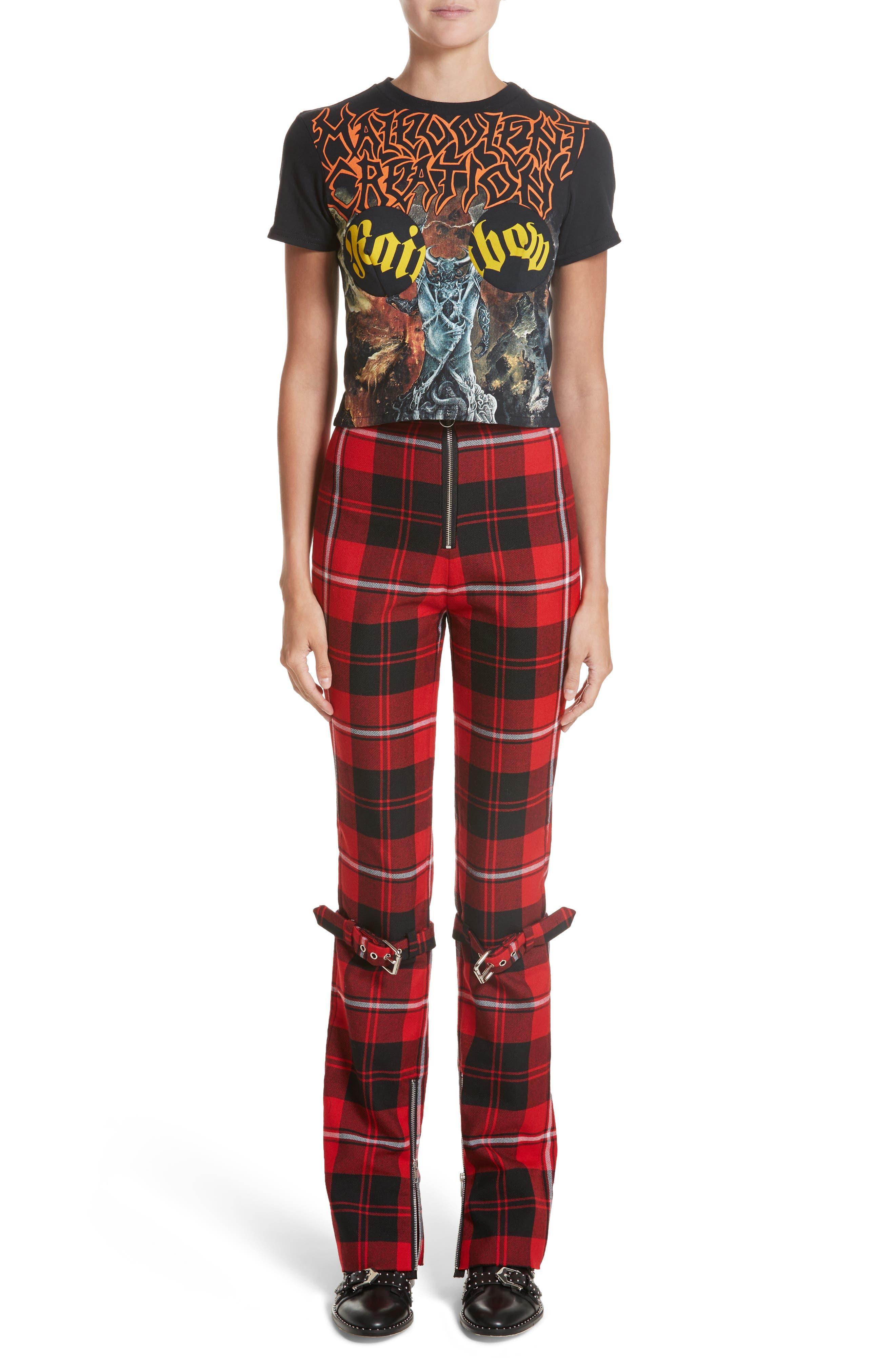 Alternate Image 7  - Dilara Findikoglu Manson Tartan Plaid Wool Pants
