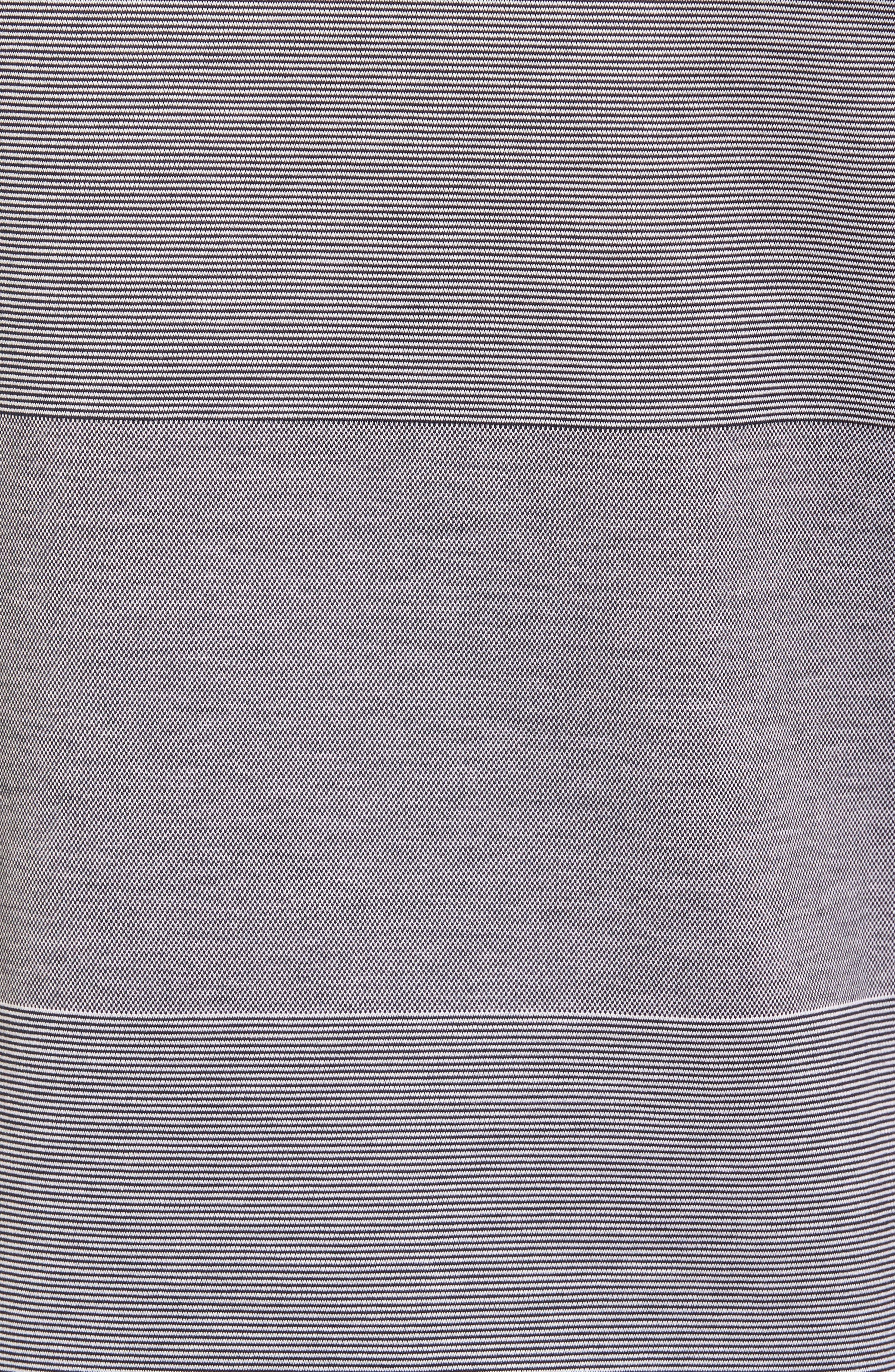 Alternate Image 6  - BOSS Slim Fit Stripe V-Neck T-Shirt