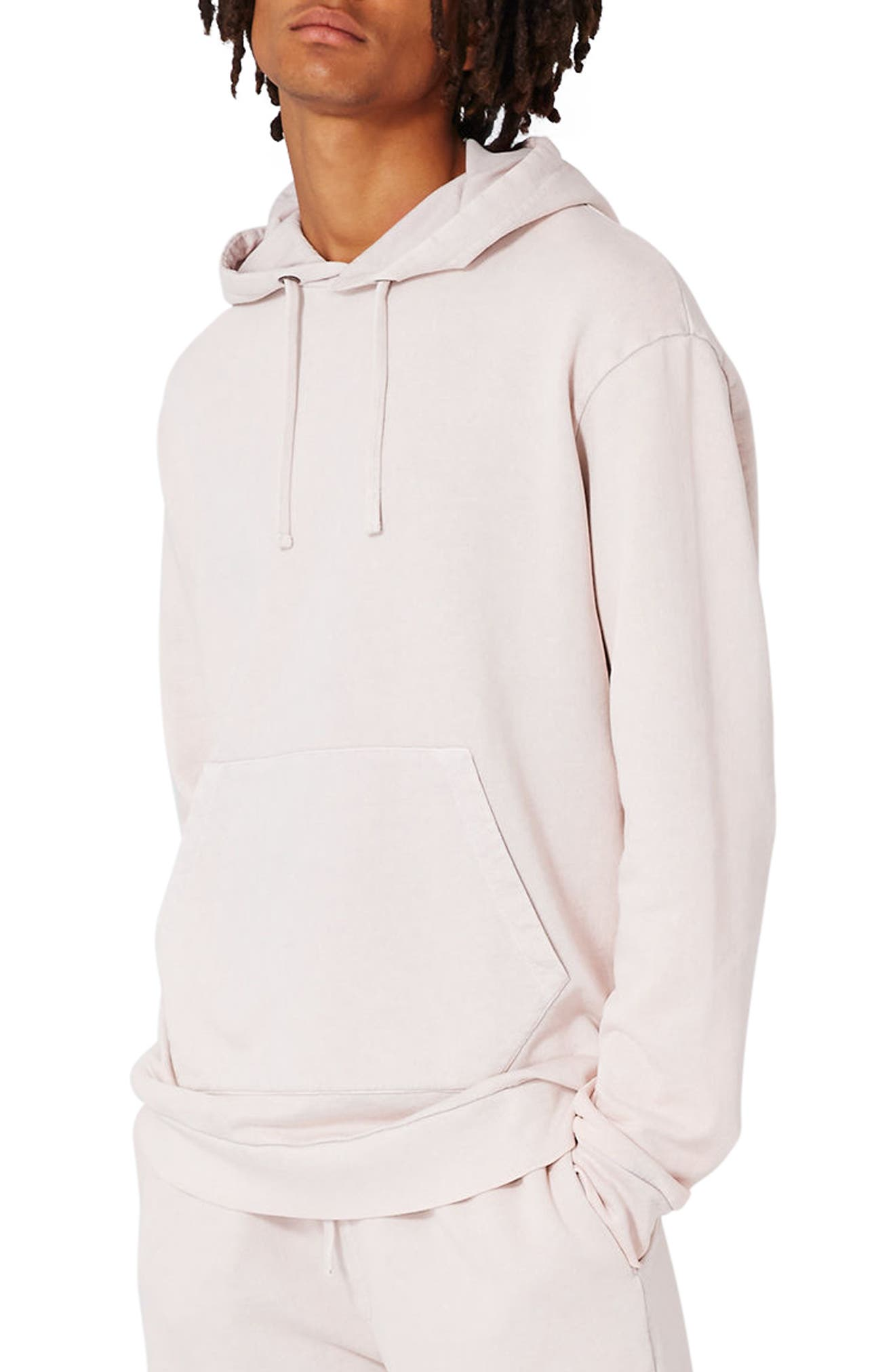Topman LTD Collection Oversize Washed Hoodie