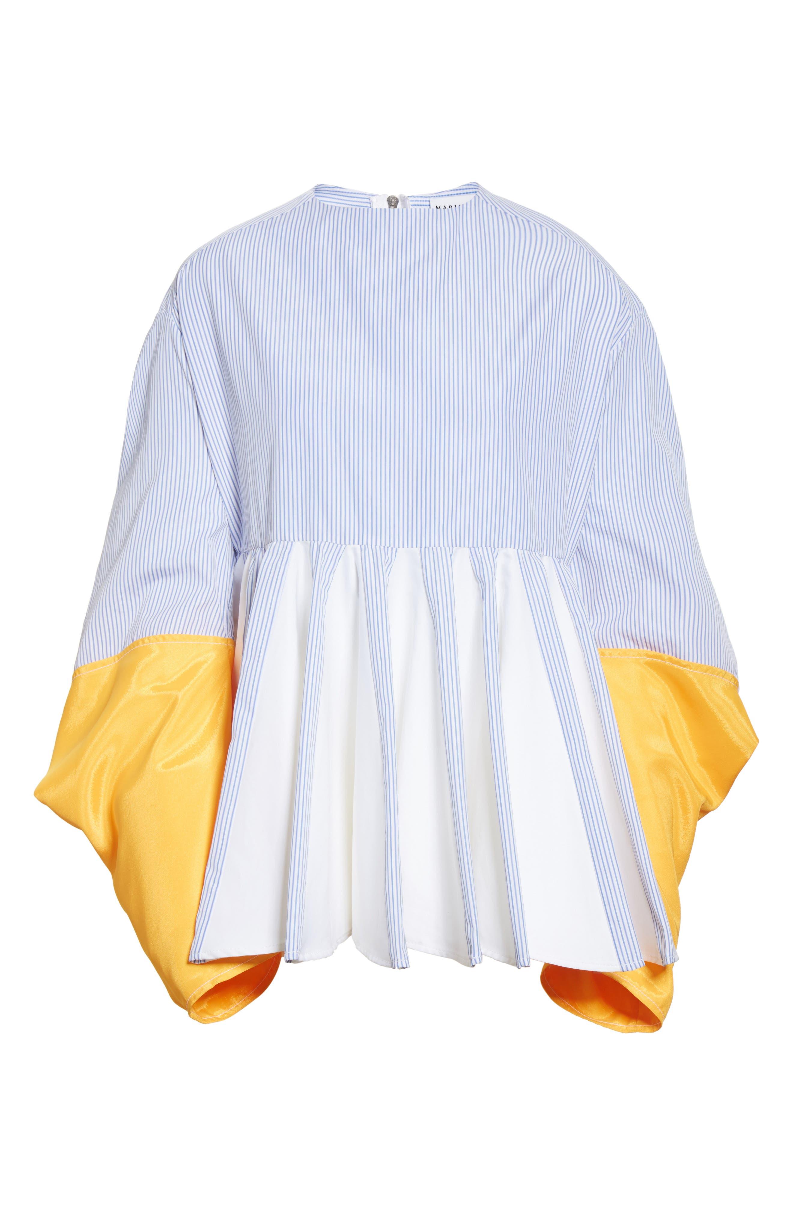 Alternate Image 6  - Marine Serre Godet Shirt