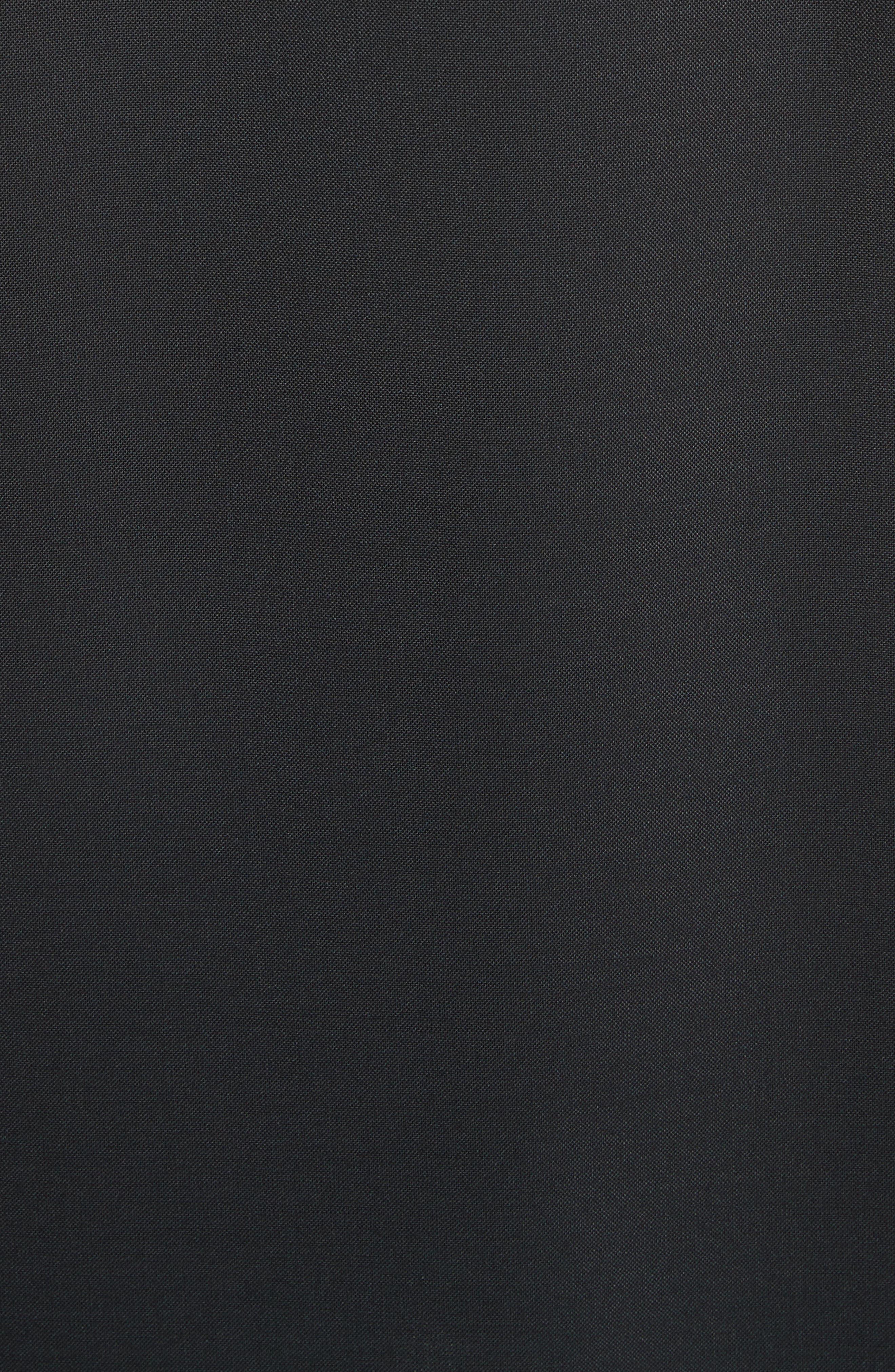 Lou Lou Appliqué Dress,                             Alternate thumbnail 5, color,                             Black