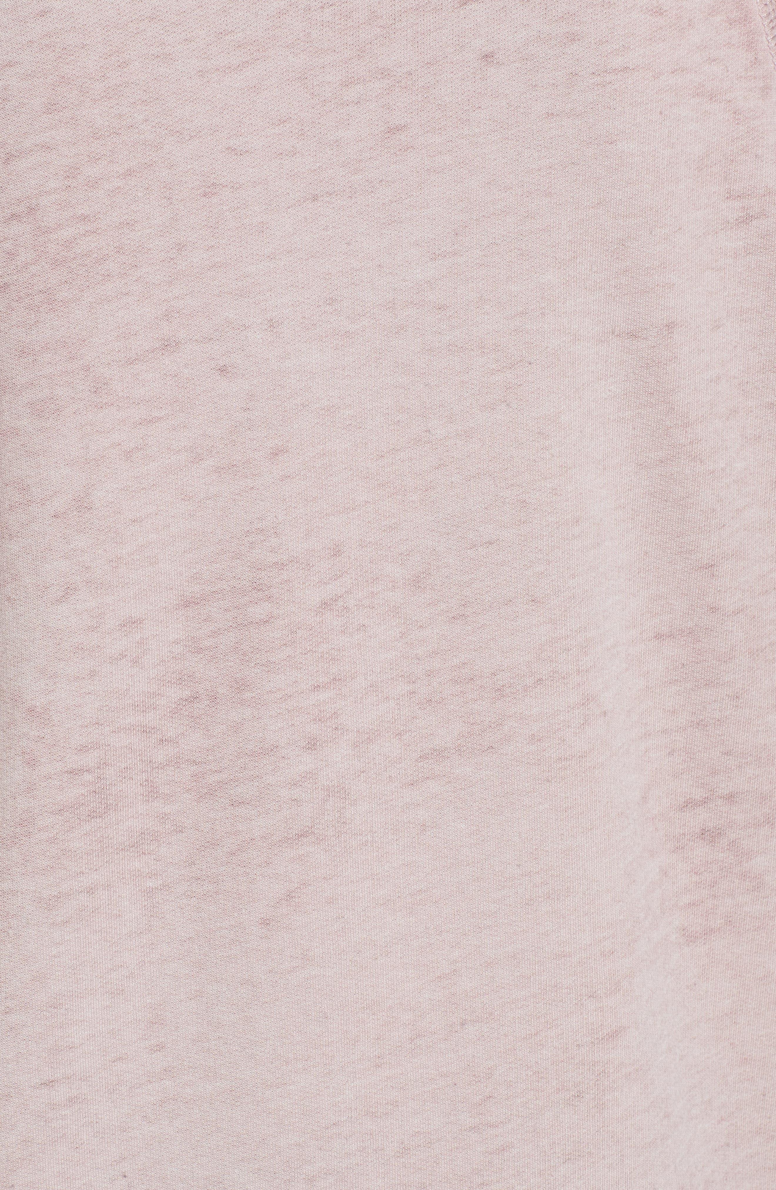 Alternate Image 5  - Caslon® Burnout Sweatshirt (Regular & Petite)