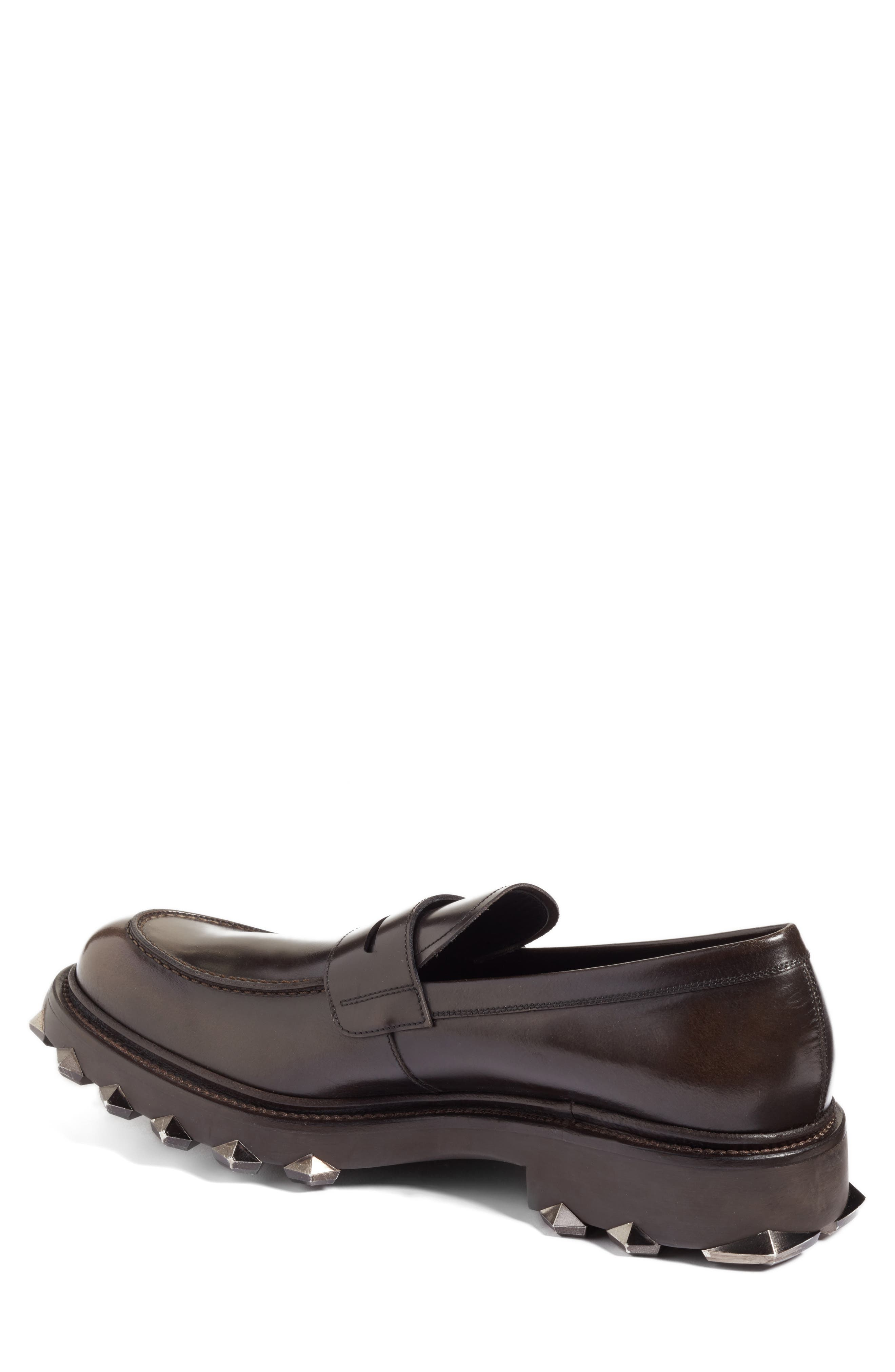 Alternate Image 2  - Salvatore Ferragamo Penny Loafer (Men)