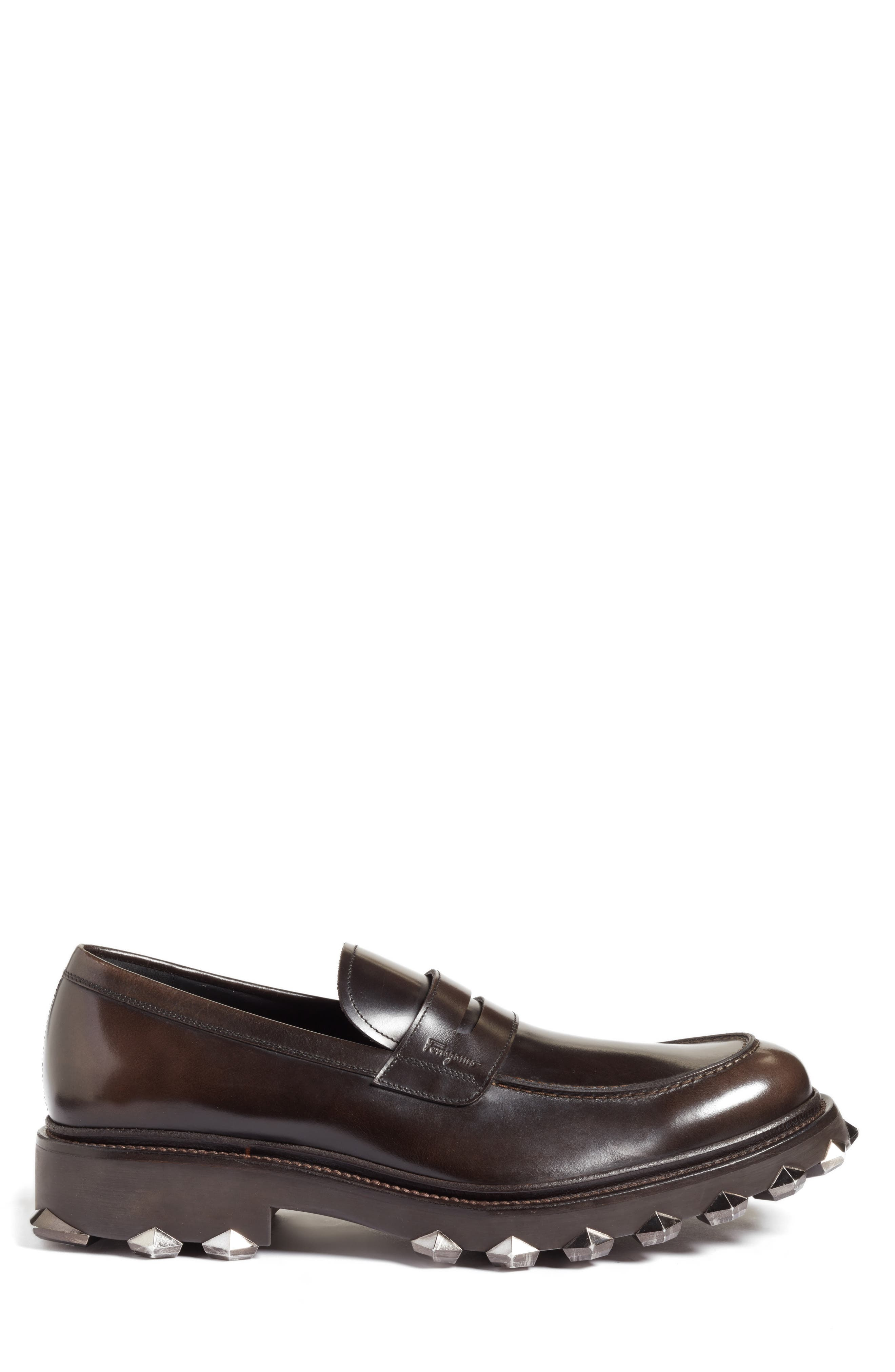 Alternate Image 3  - Salvatore Ferragamo Penny Loafer (Men)