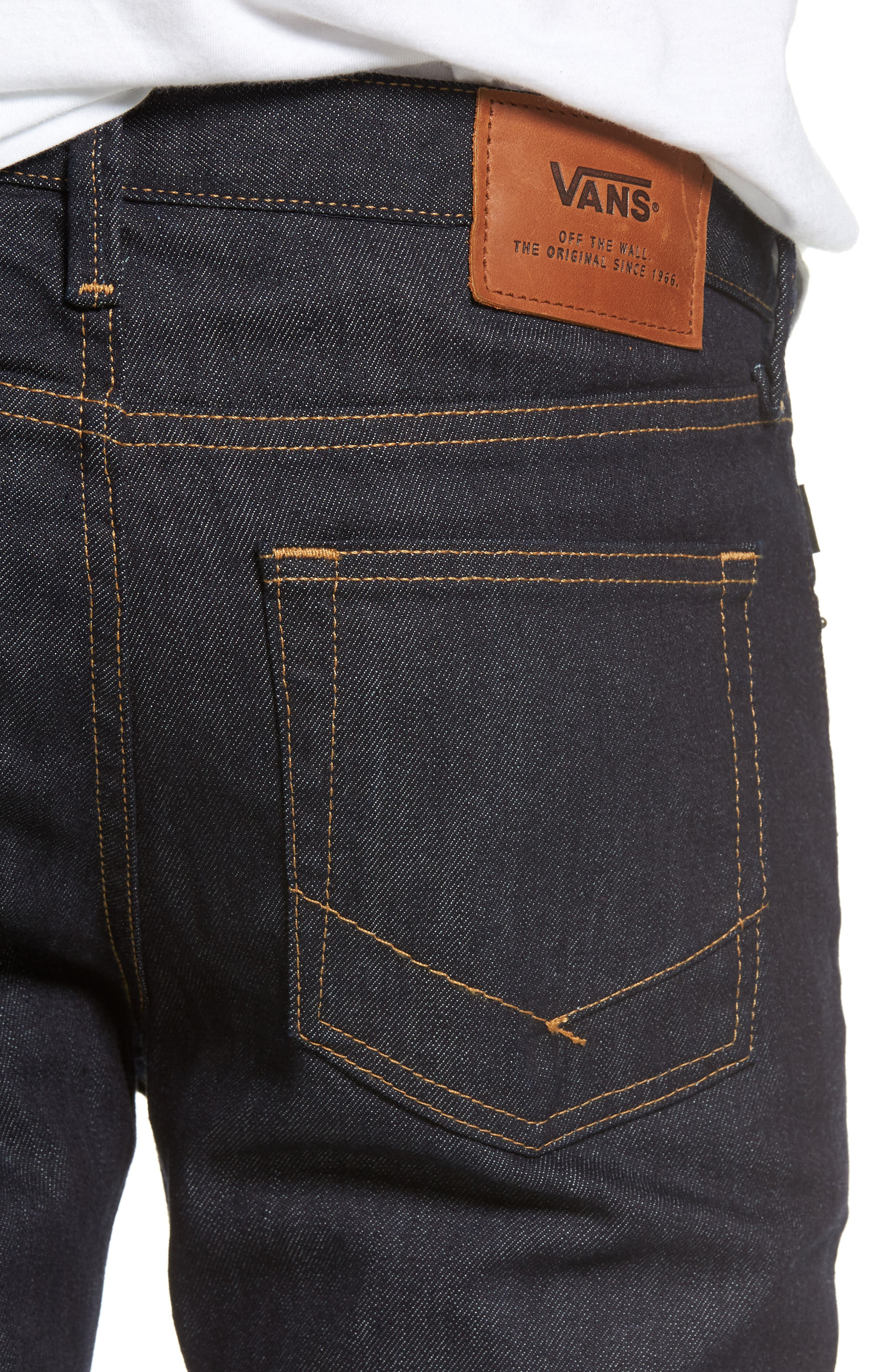 Alternate Image 4  - Vans V76 Skinny Jeans