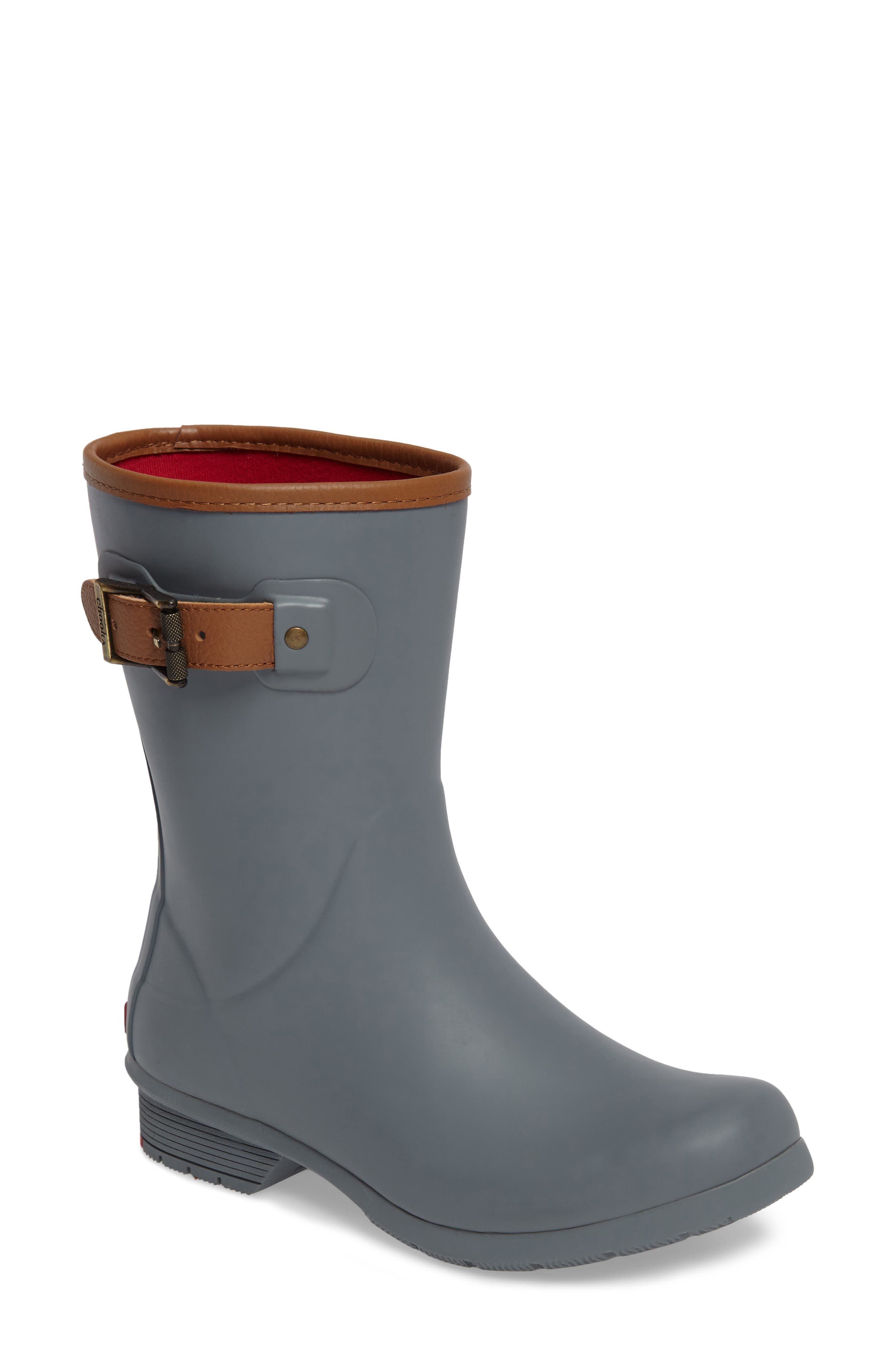 Chooka City Solid Mid Height Rain Boot (Women)