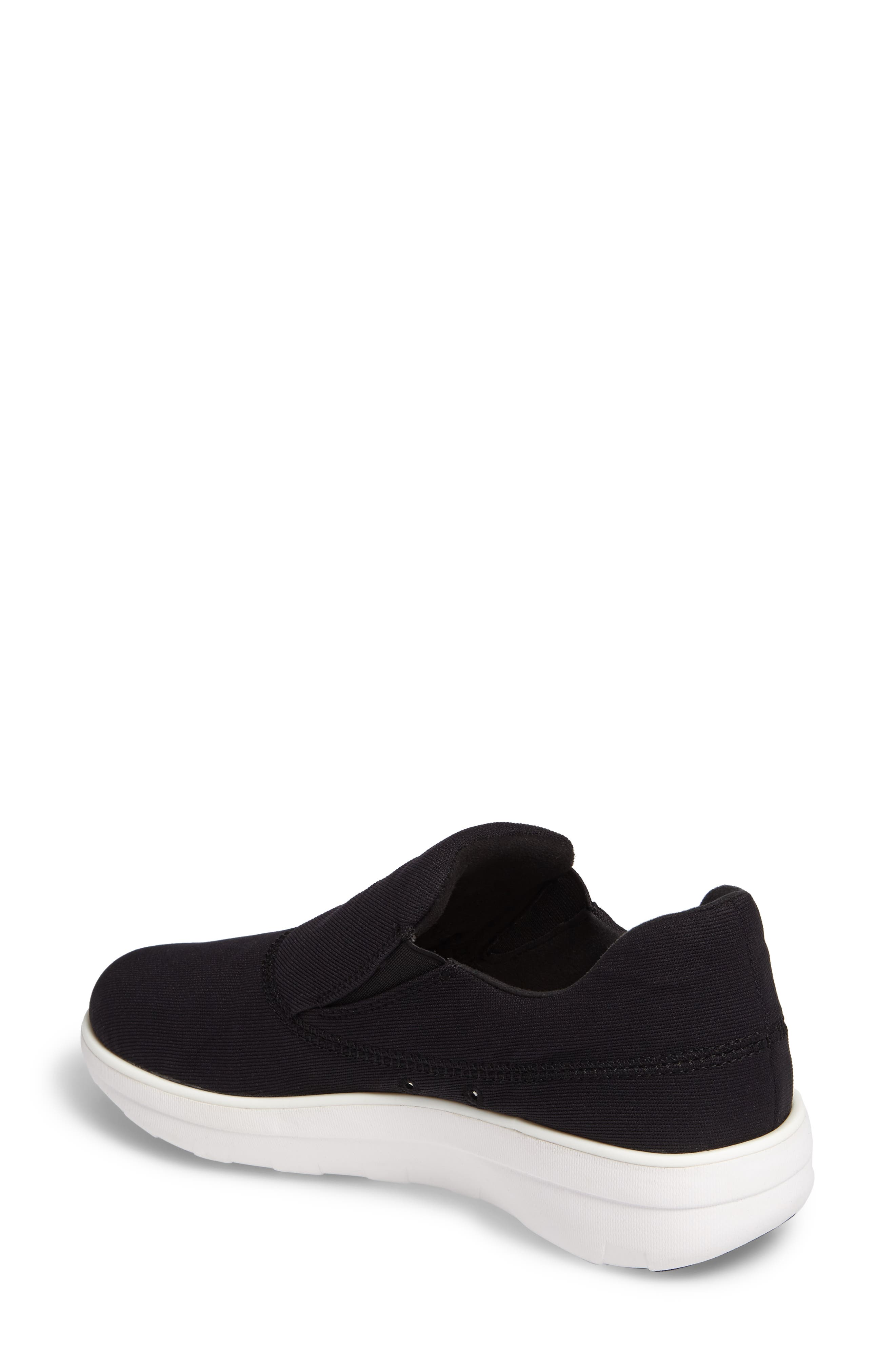Alternate Image 2  - FitFlop Loaff Platform Slip-On Sneaker (Women)