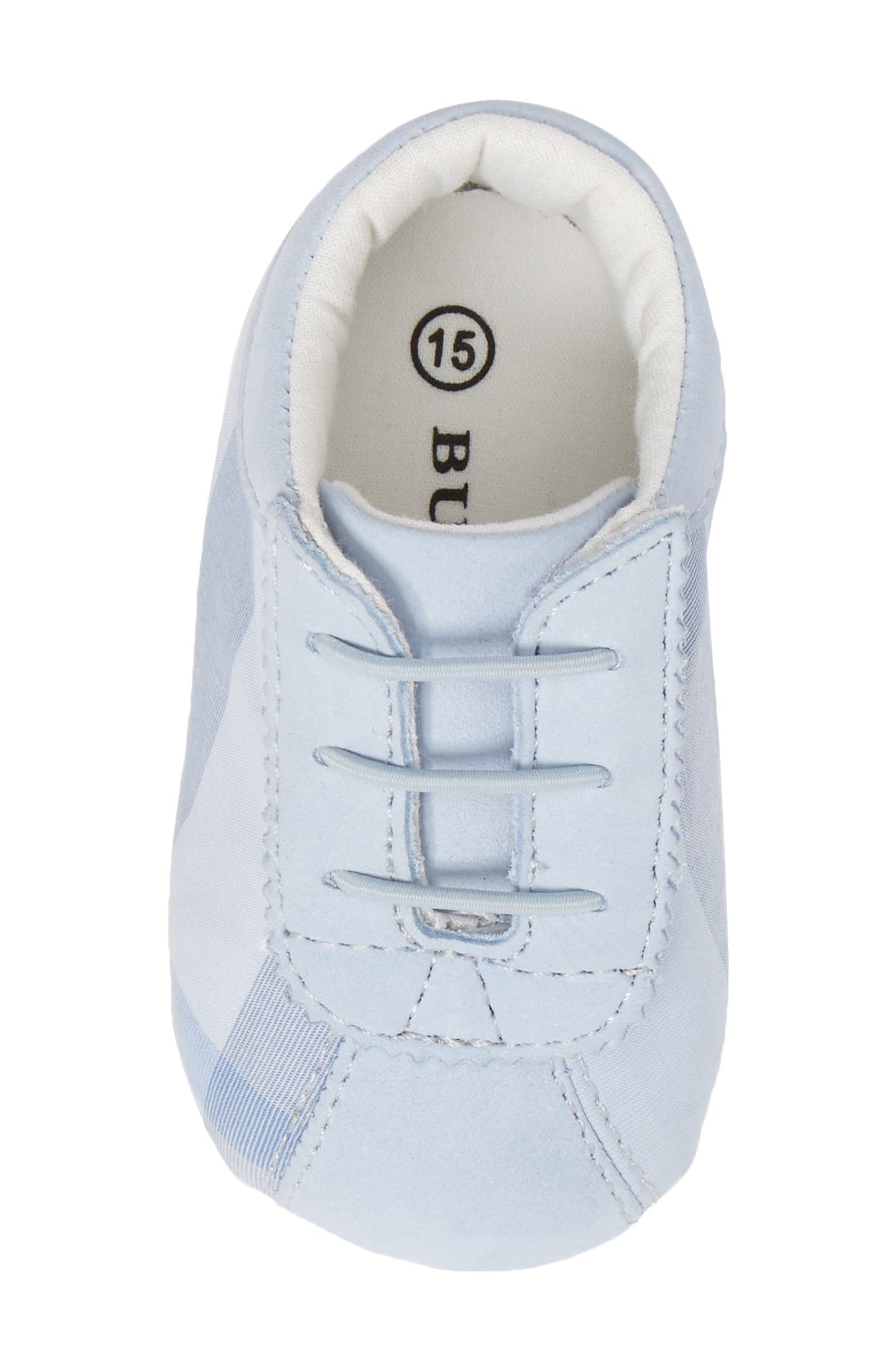 'Bosco' Crib Shoe,                             Alternate thumbnail 5, color,                             Ice Blue