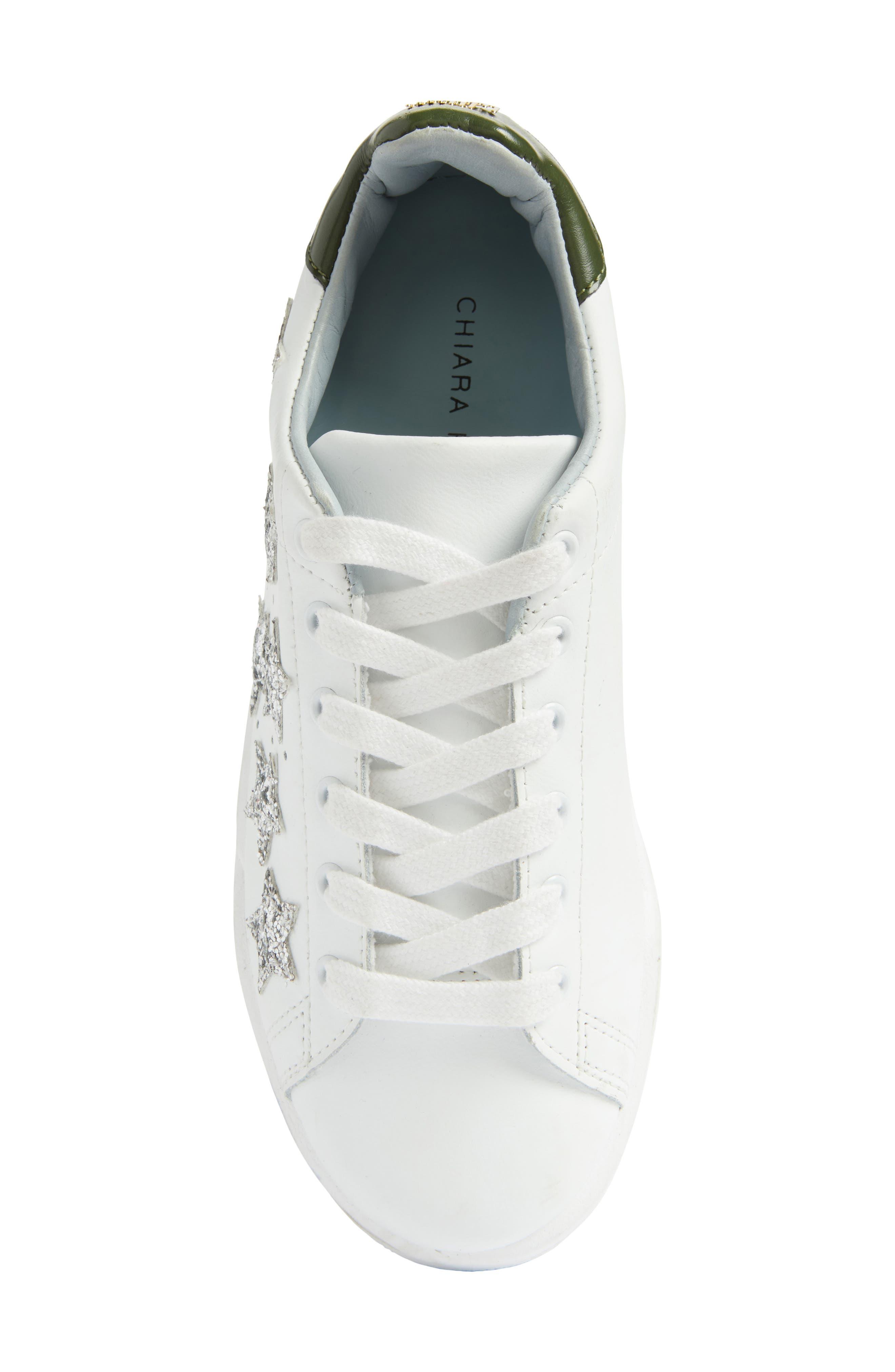 Alternate Image 5  - Chiara Ferragni Stars Roger Glitter Sneaker (Women)