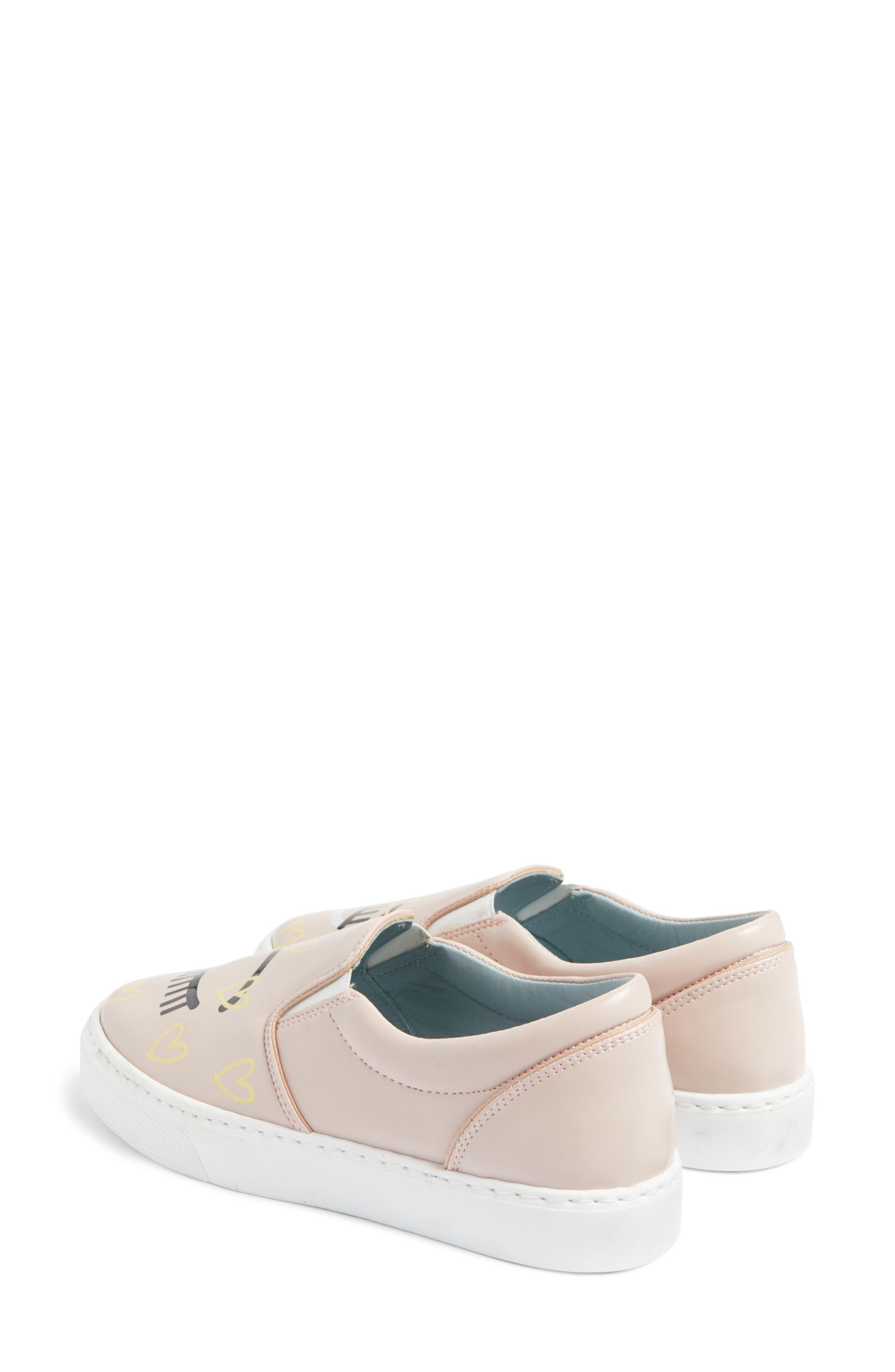 Candy Flirting Slip-On Sneaker,                             Alternate thumbnail 3, color,                             Pink