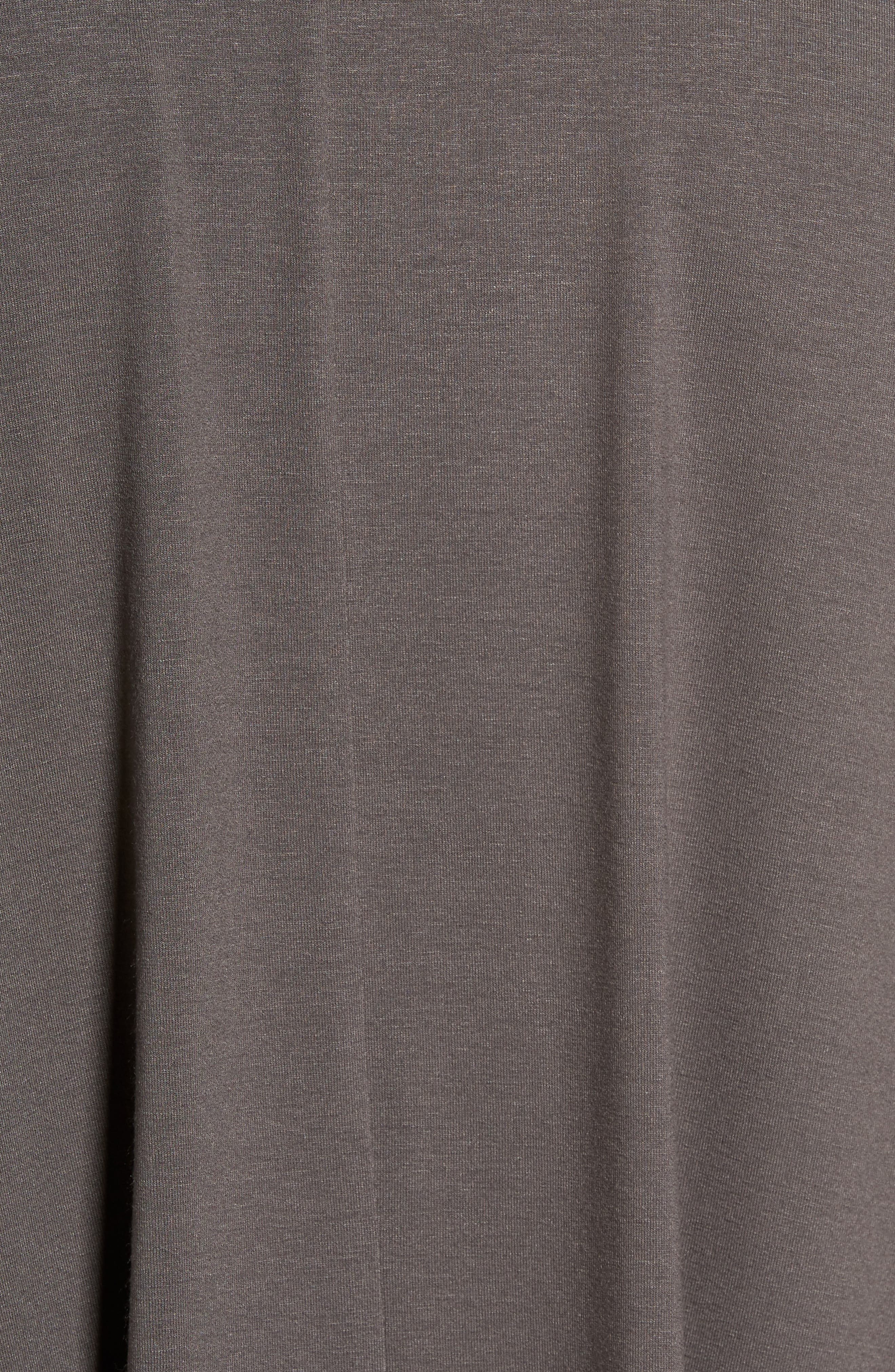 Alternate Image 5  - Eileen Fisher Button Front Jersey Tunic