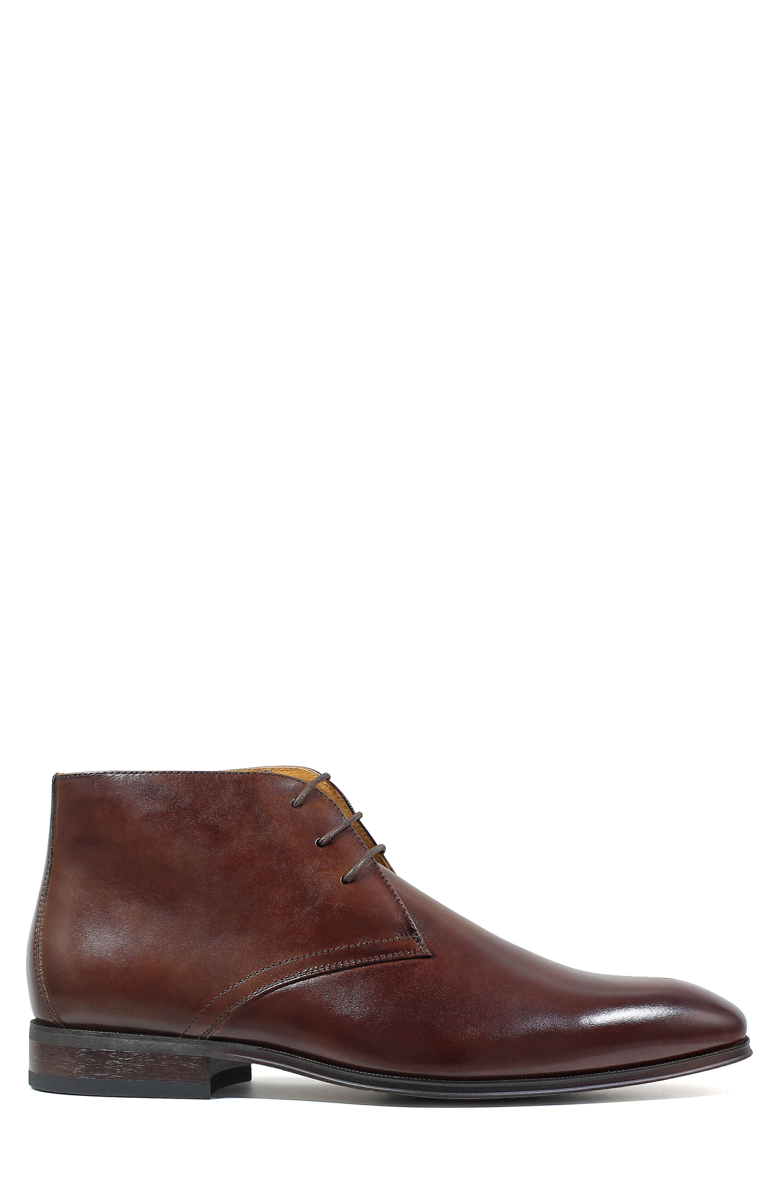 Corbetta Chukka Boot,                             Alternate thumbnail 3, color,                             Cognac Leather
