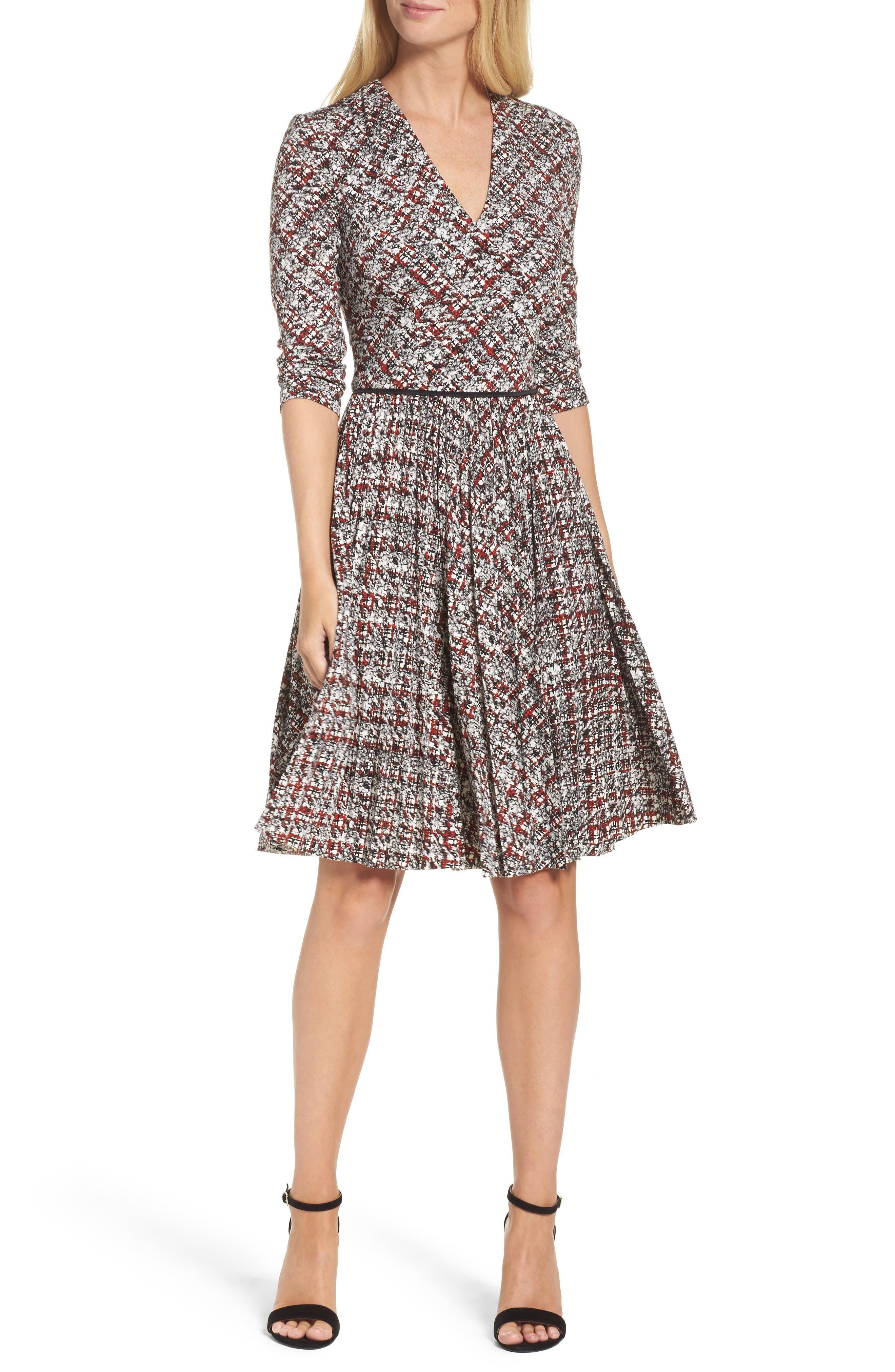 Alternate Image 1 Selected - Maggy London Fit & Flare Dress (Regular & Petite)