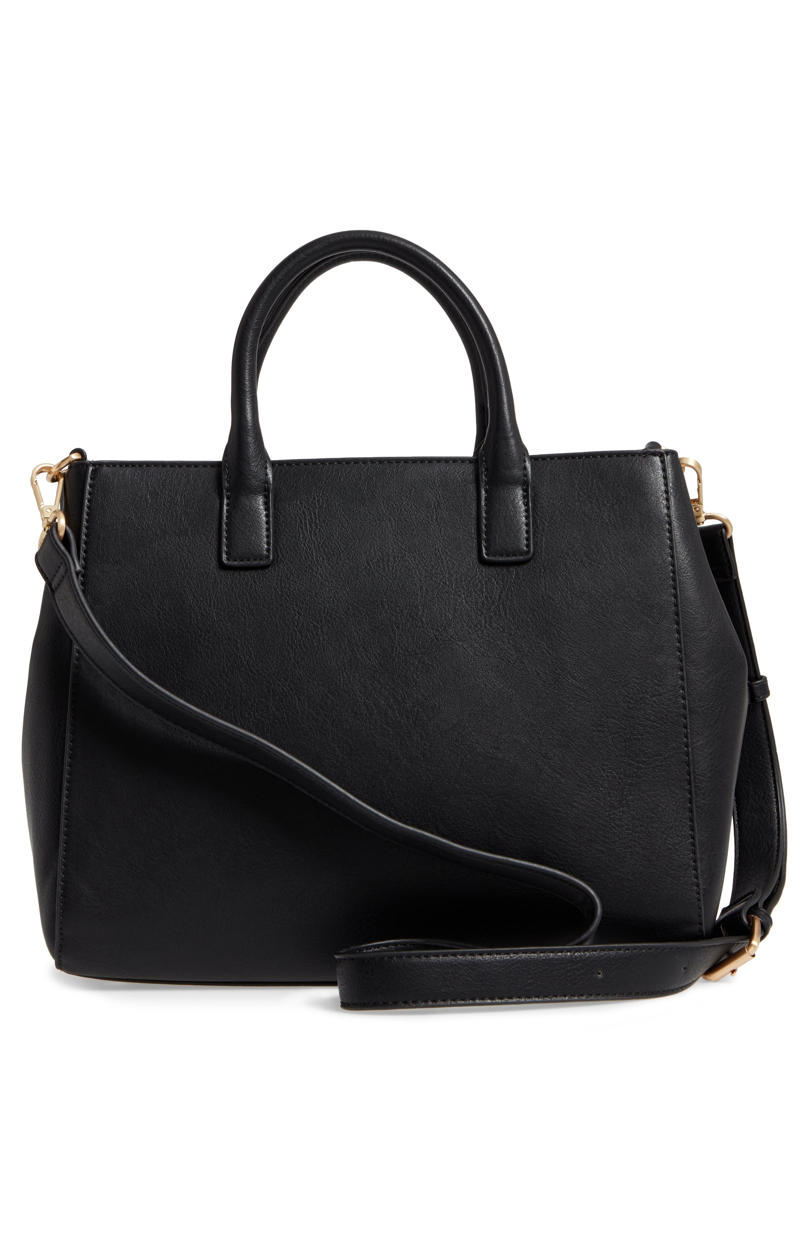 Alternate Image 2  - Sole Society Zola Faux Leather Satchel