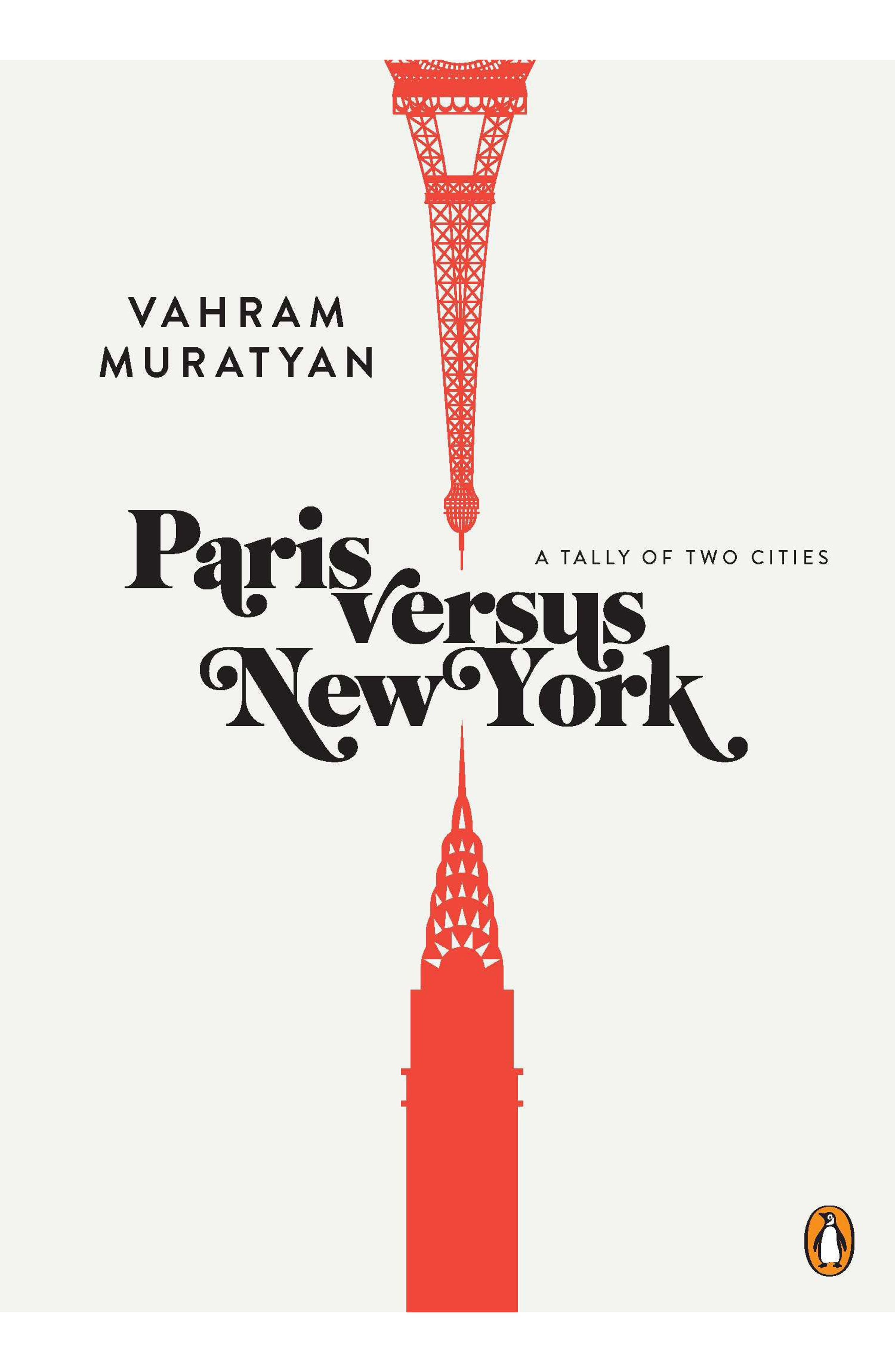 Paris Versus New York Book