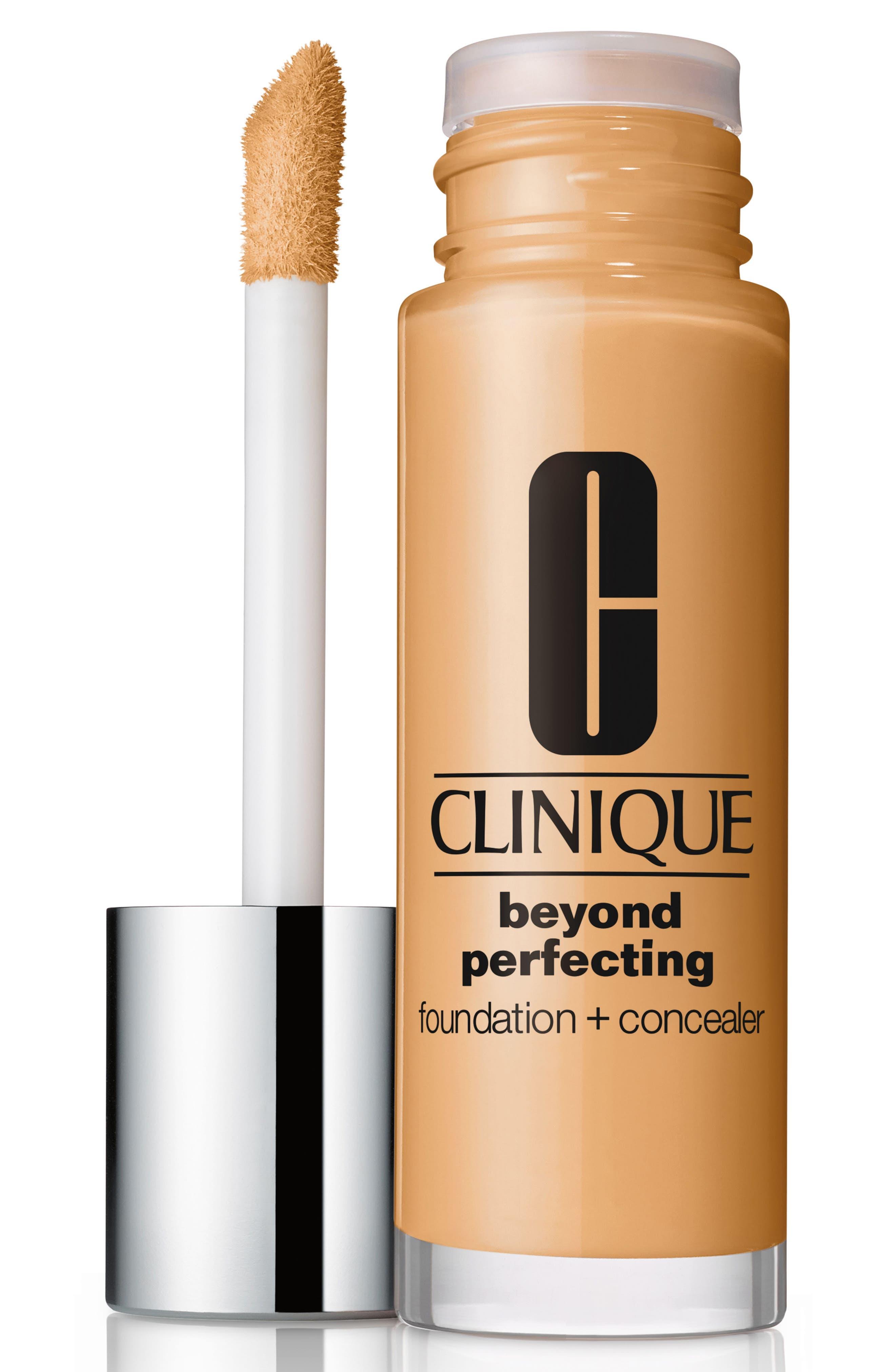 Beyond Perfecting Foundation + Concealer,                         Main,                         color, Ecru