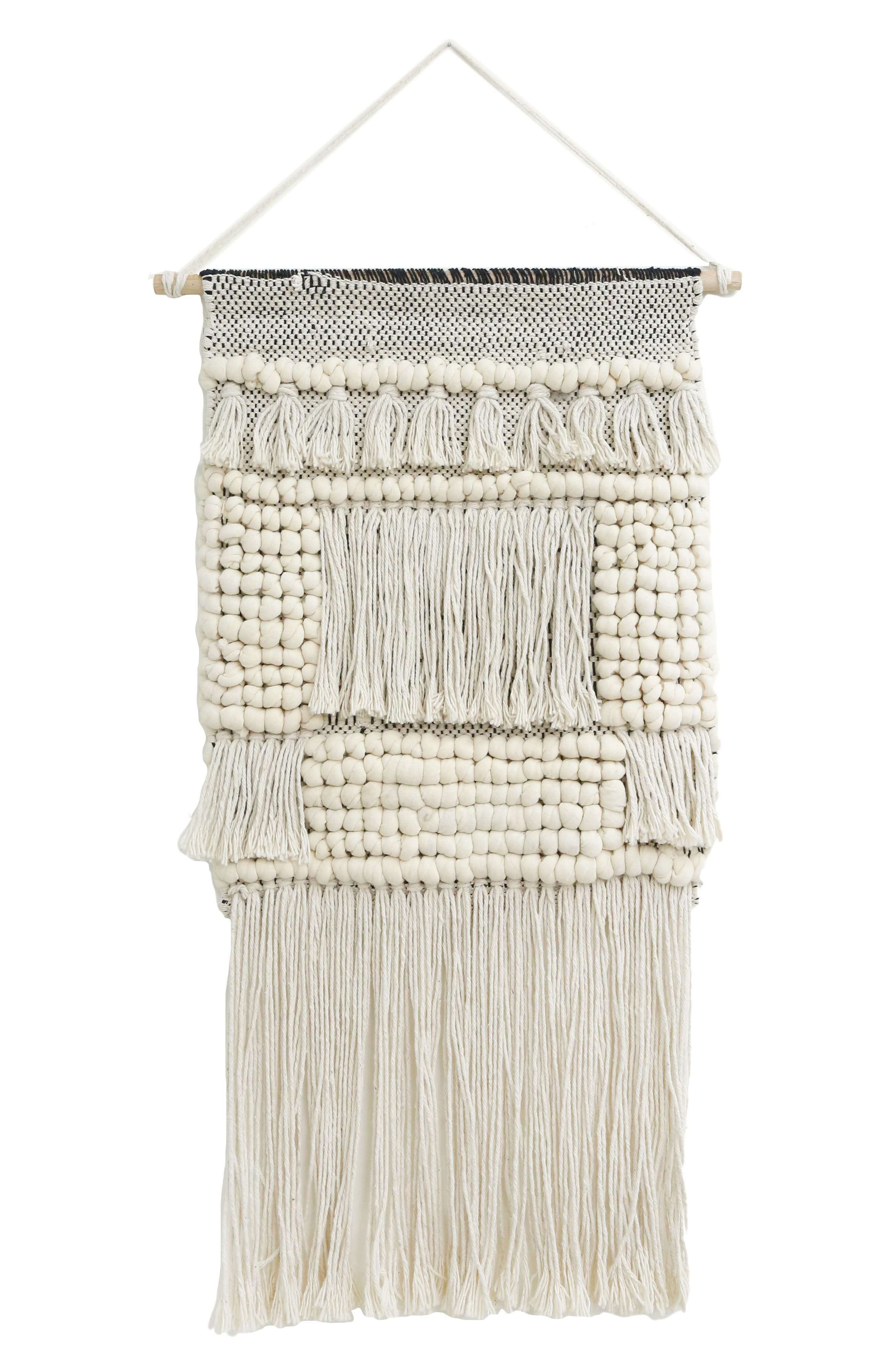 Younes Wall Hanging,                         Main,                         color, Ivory