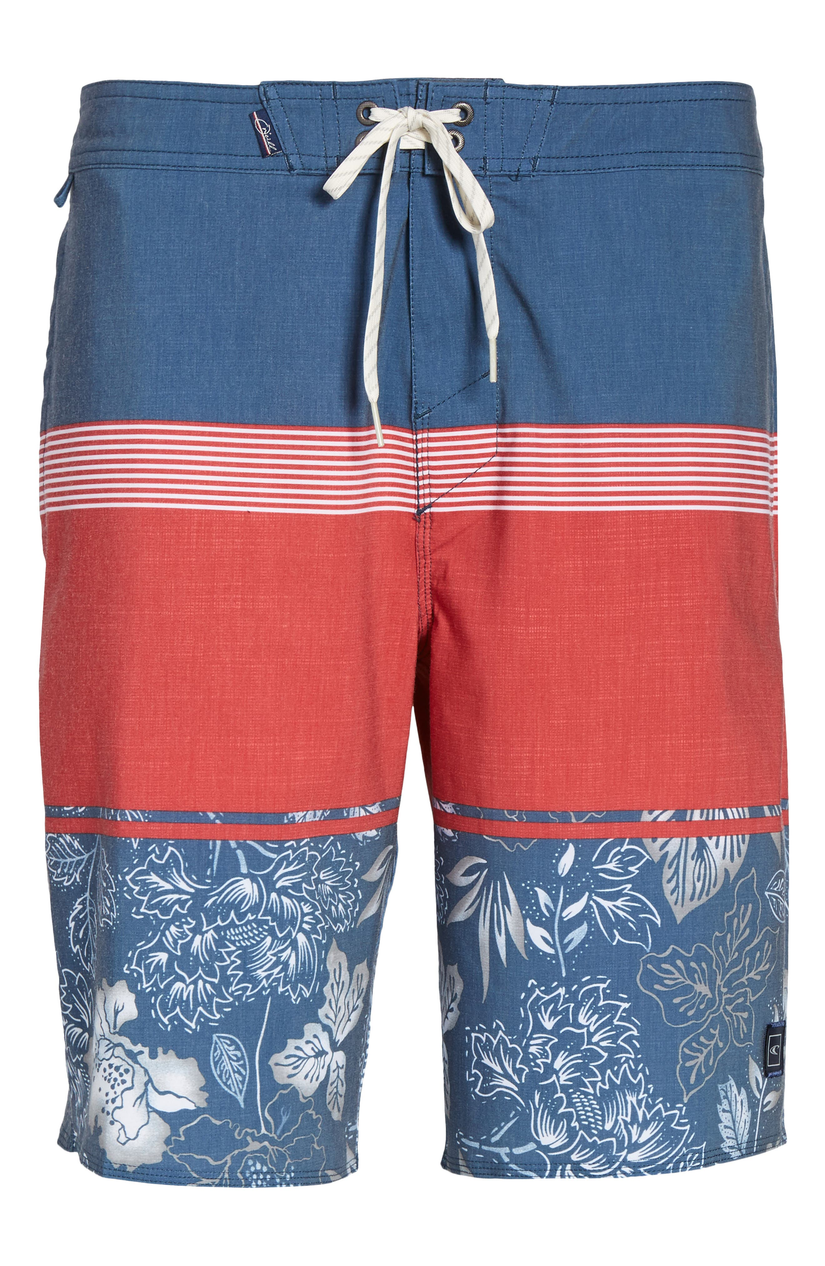 Surfside Board Shorts,                             Alternate thumbnail 6, color,                             Red