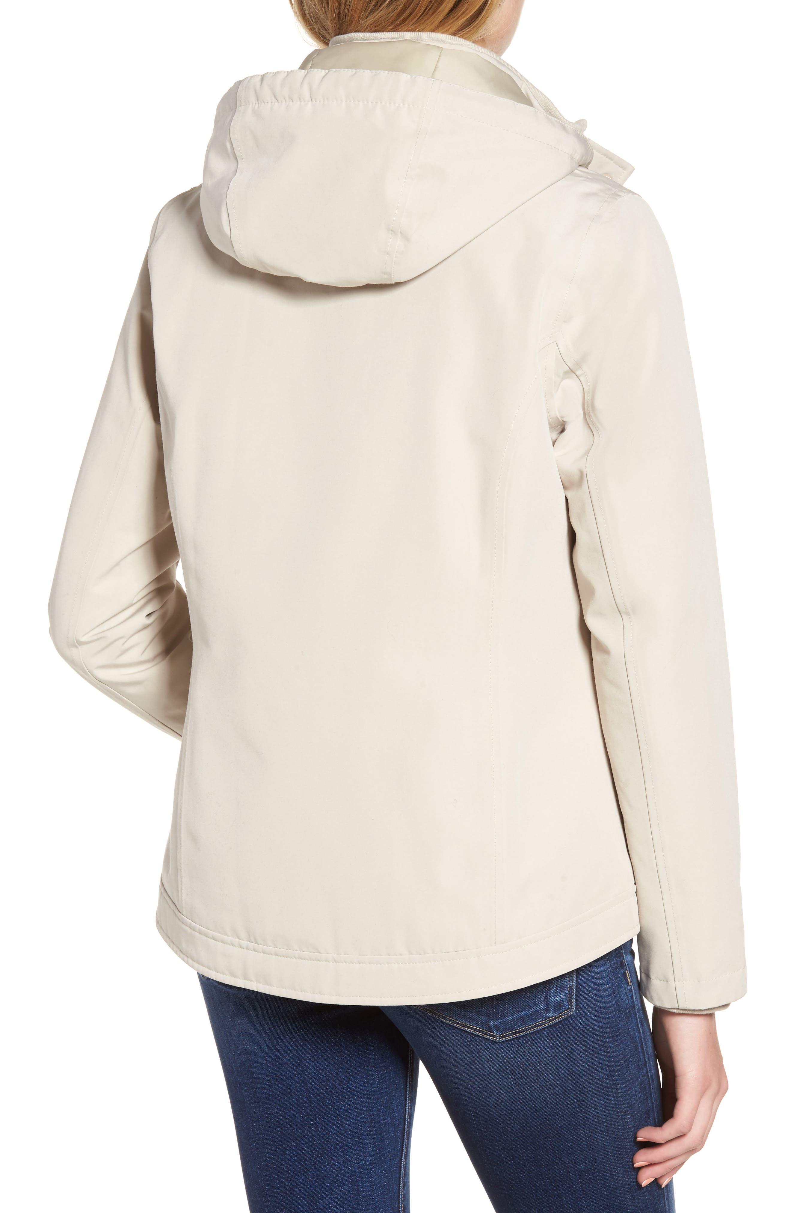 Seaton Hooded Waterproof Jacket,                             Alternate thumbnail 2, color,                             Mist